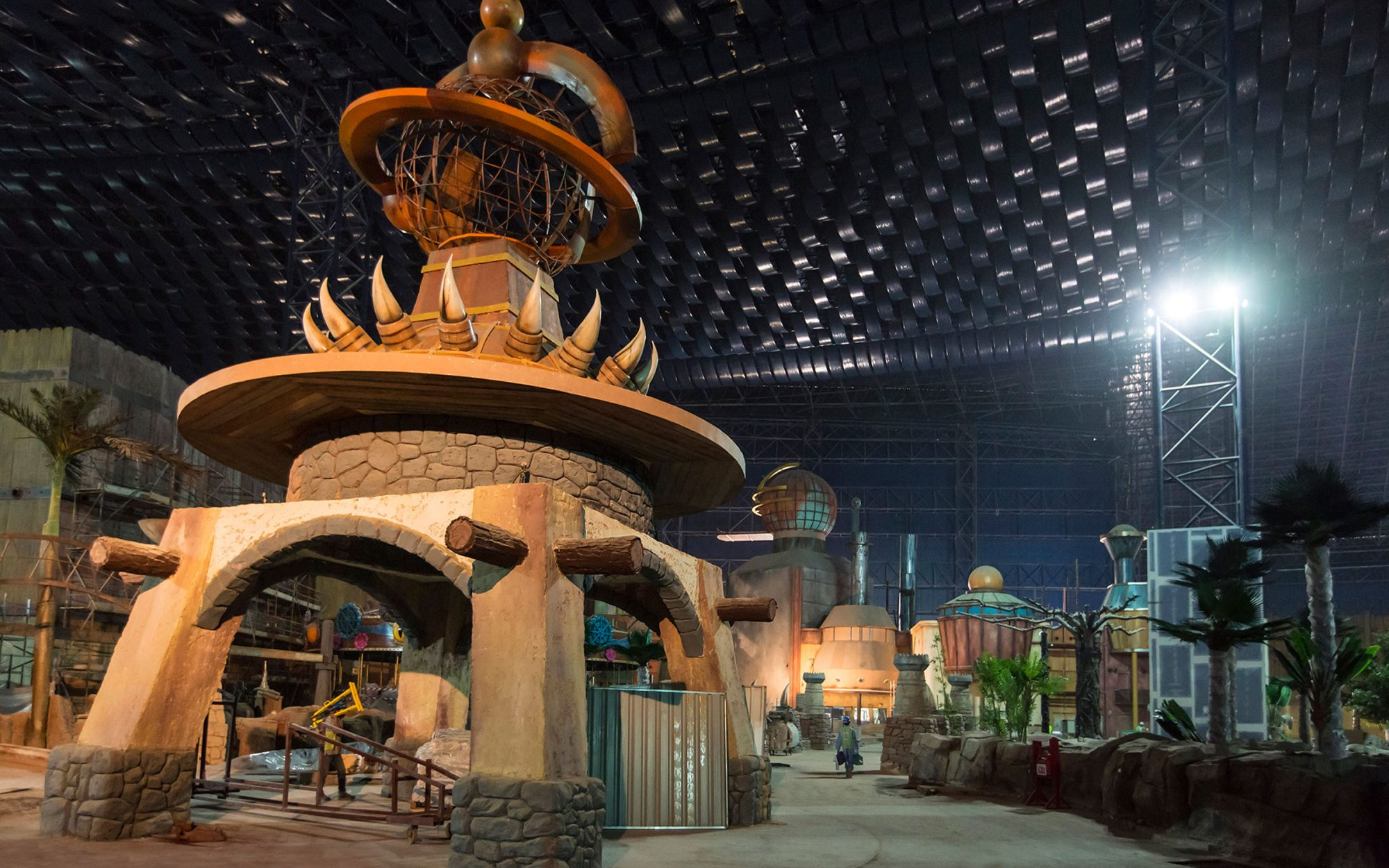 World's largest indoor theme park