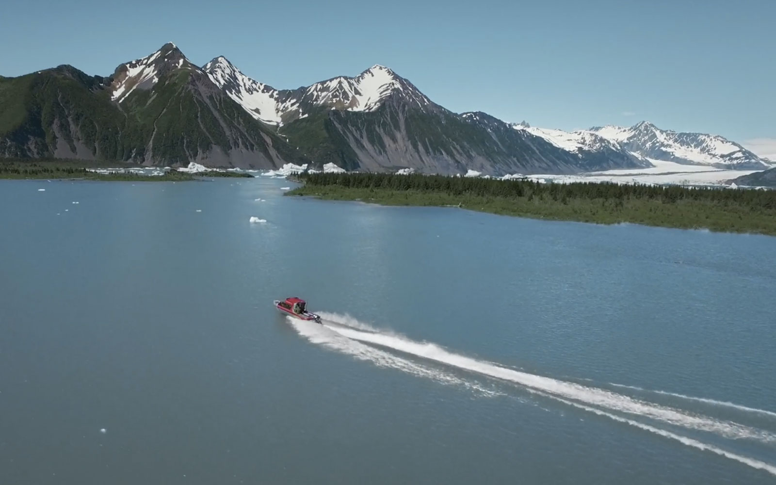Kenai Fjords National Park in Google's immersive experience.