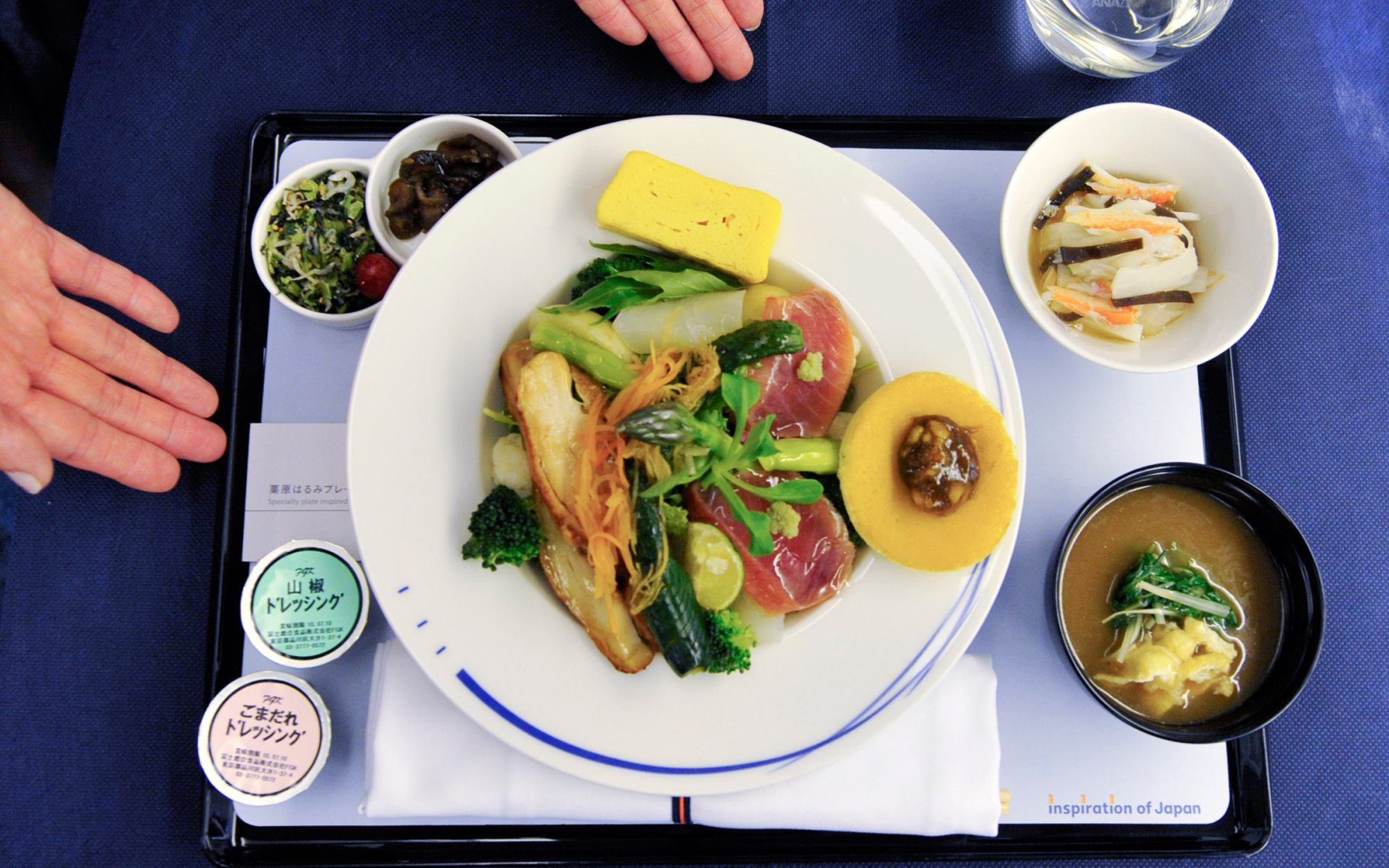All Nippon Airways food