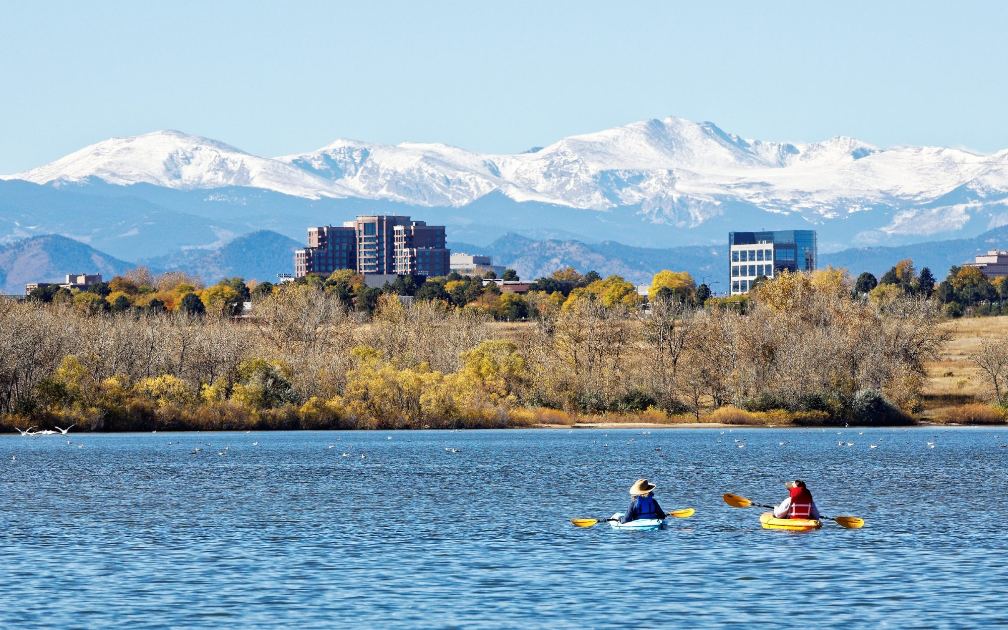 Kayakers Denver Colorado