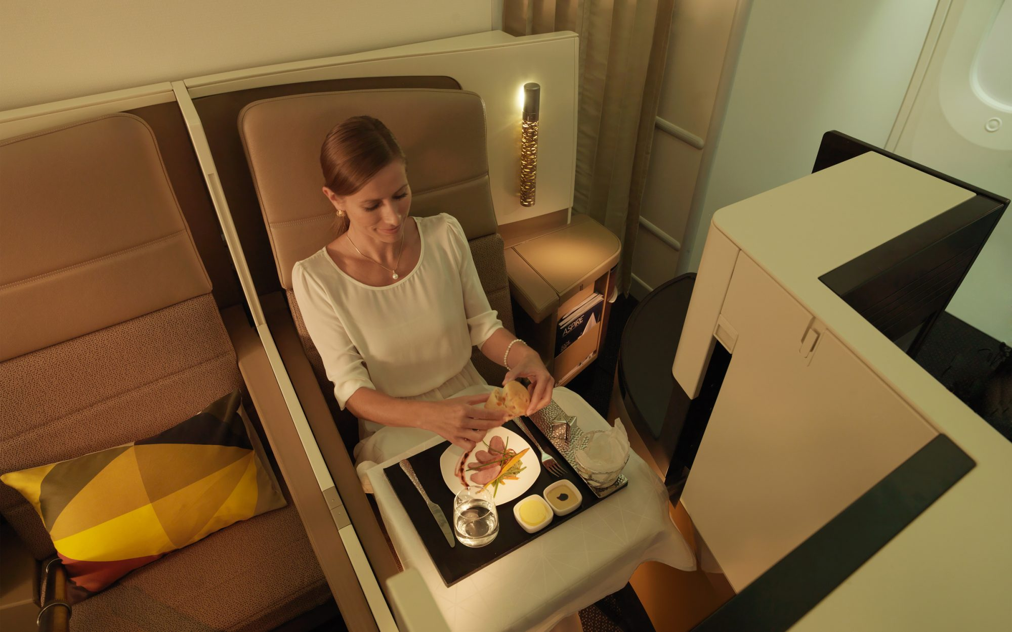 Etihad Airways food
