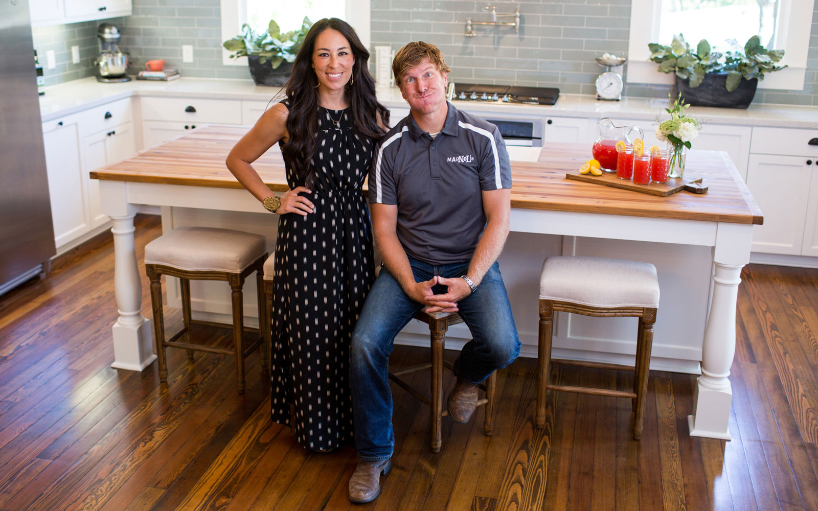 Chip and Joanna Gaines, from the show Fixer Upper.