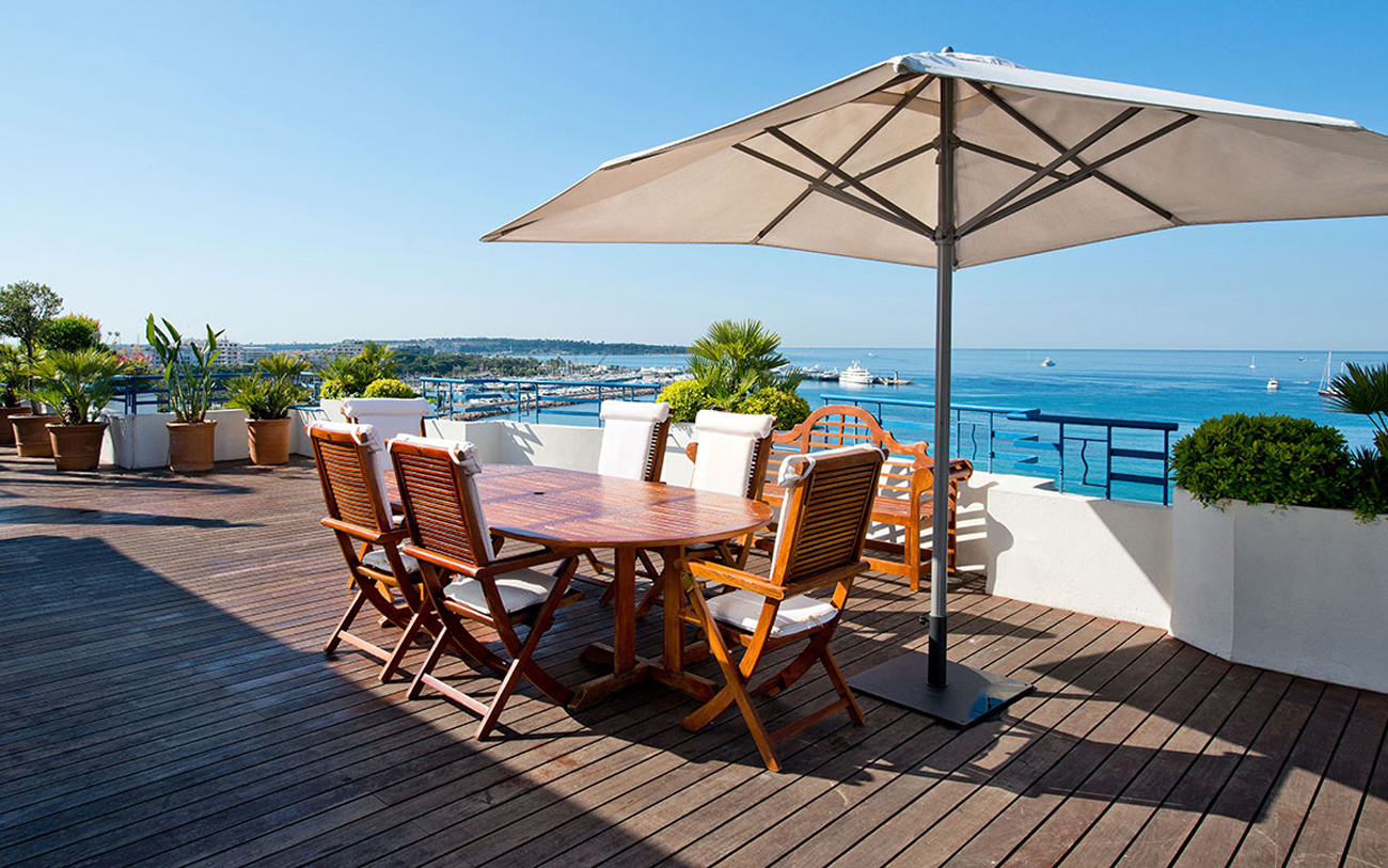 Penthouse Suite at Grand Hyatt Cannes Hôtel Martinez in France