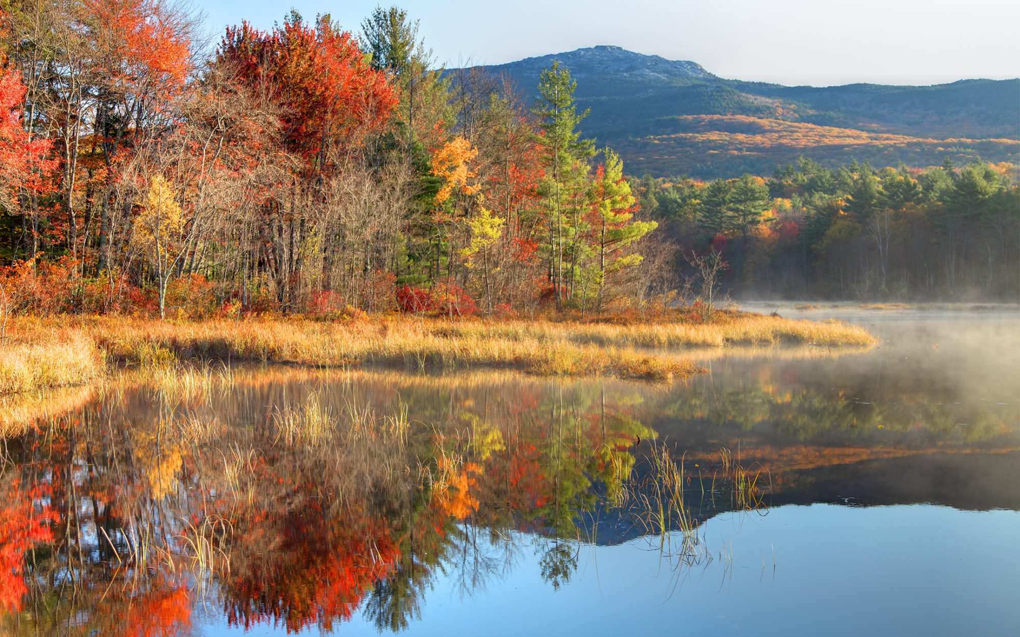 Best Fall Foliage in New Hampshire