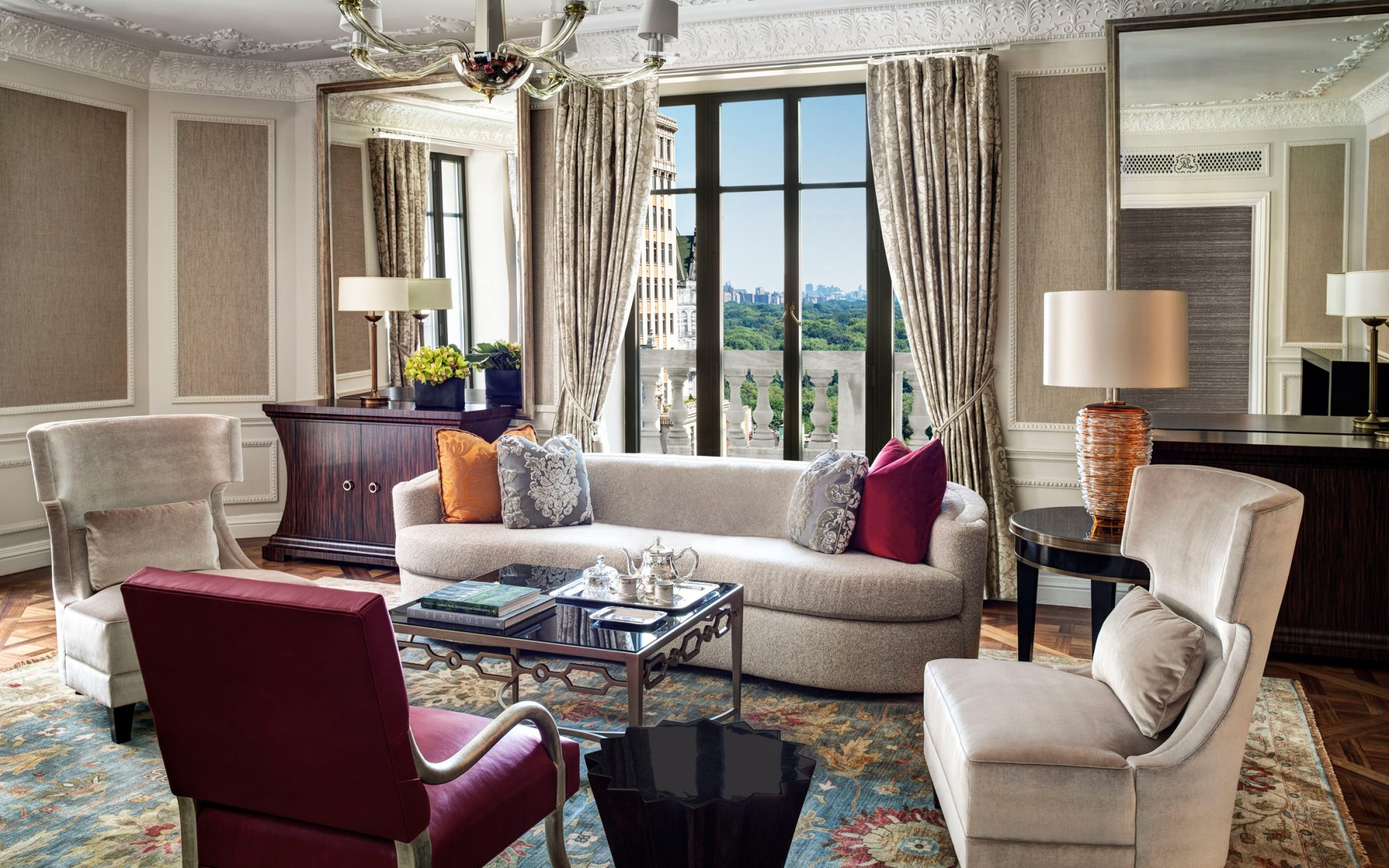 Presidential Suite at the St. Regis New York in New York City