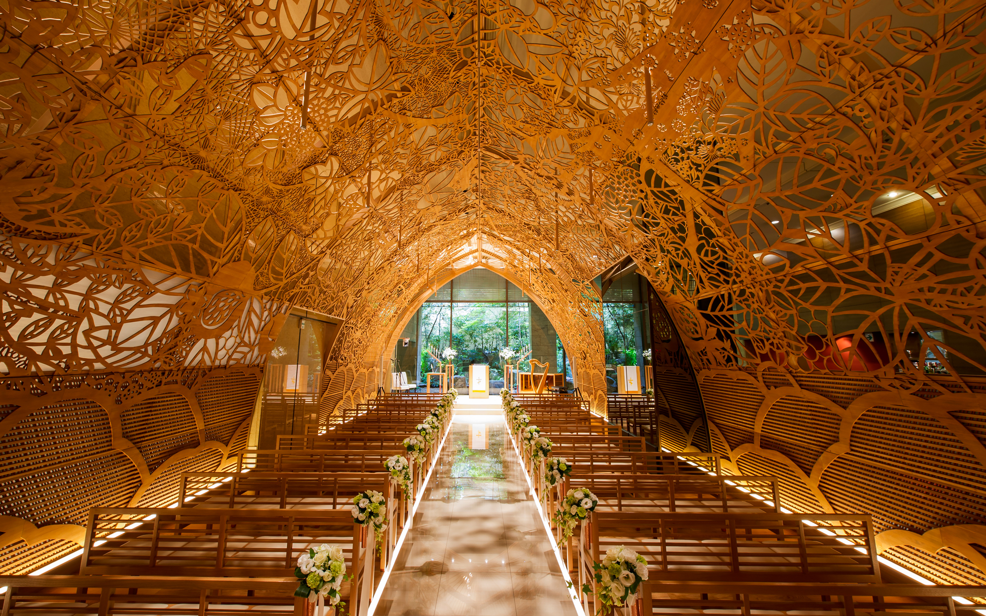 ANA Crowne Plaza Hiroshima Japan Wedding Chapel