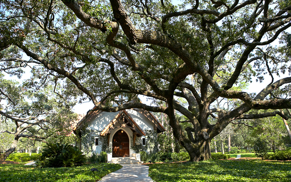 Sea Island Georgia Wedding Chapel
