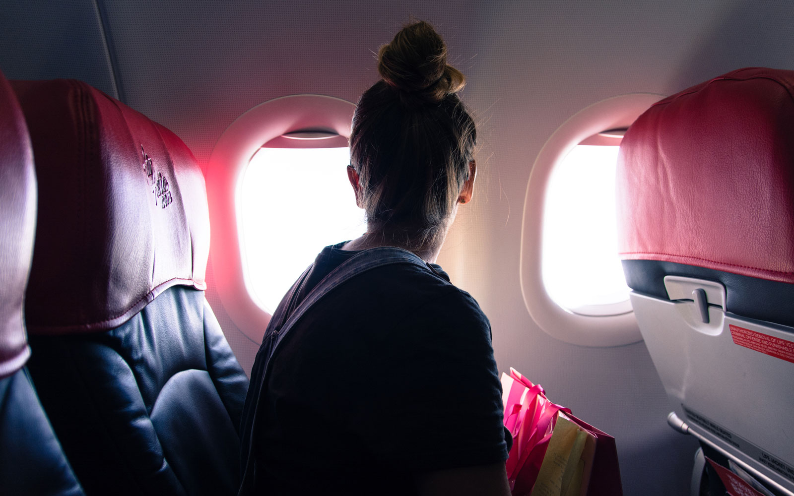 A new app provides info to nervous passengers to help calm them down.