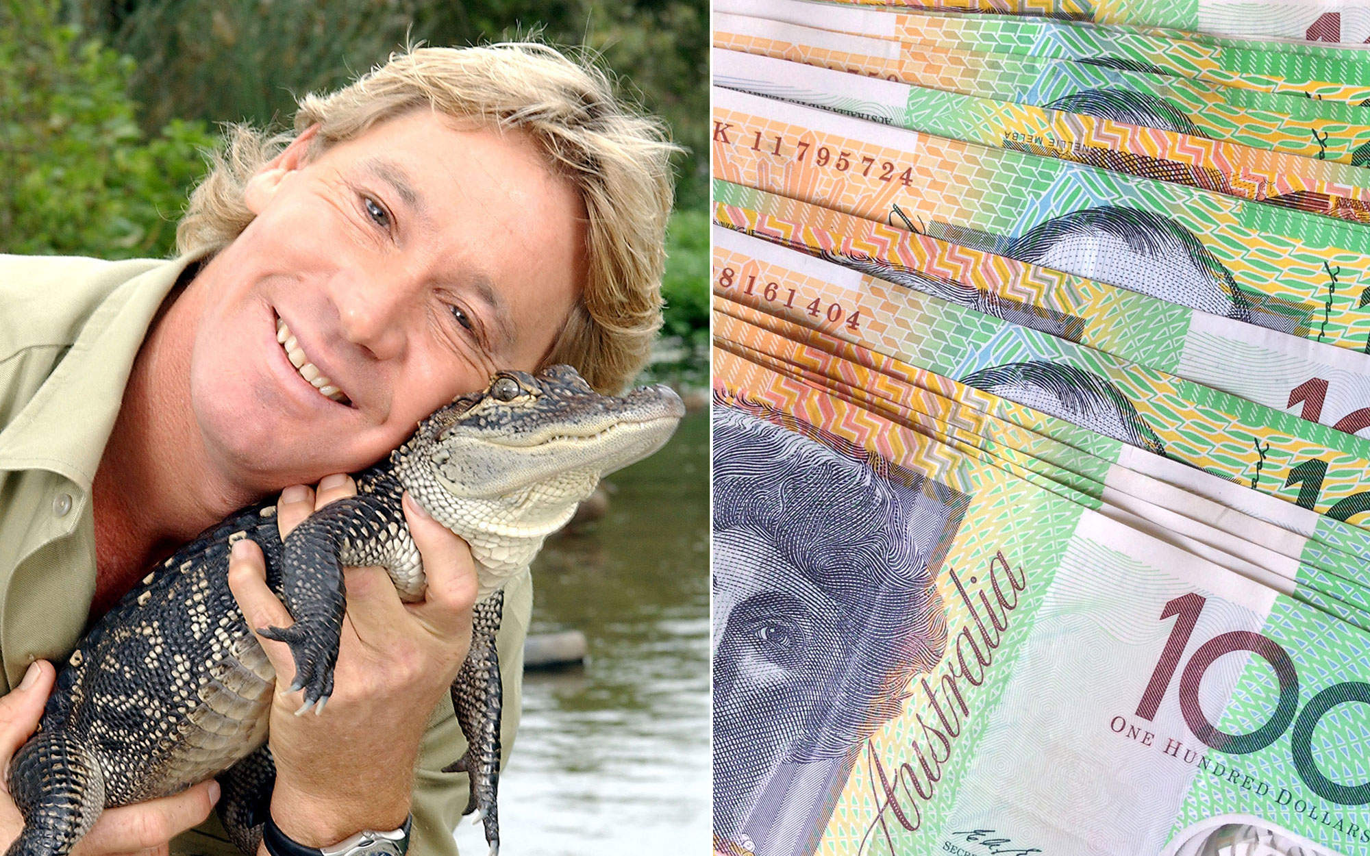 Petition to Put Steve Erwin on Australian Currency