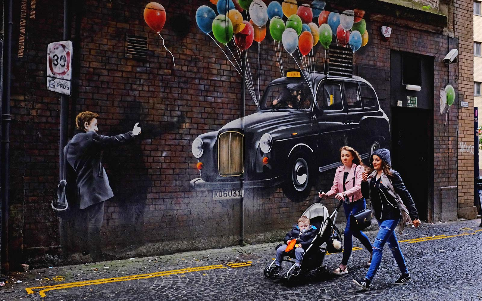 New Mural Trail in Glasgow