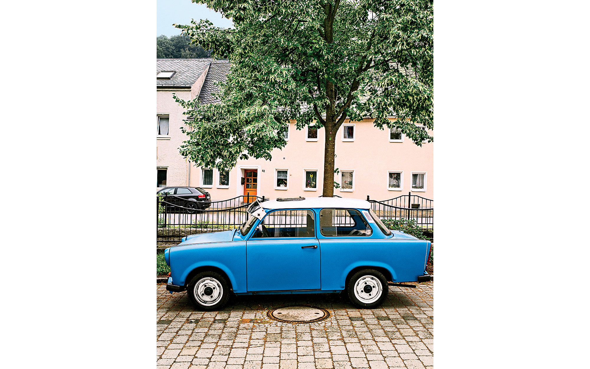 An Old East German Trabant