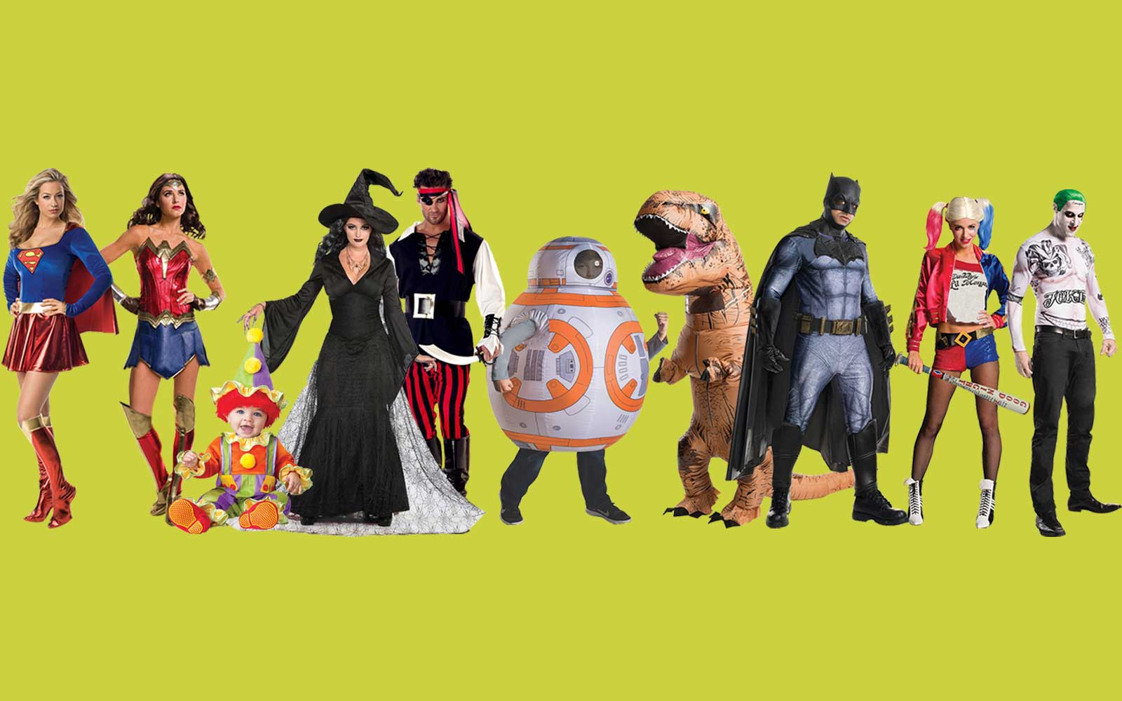 Most Searched Halloween Costumes