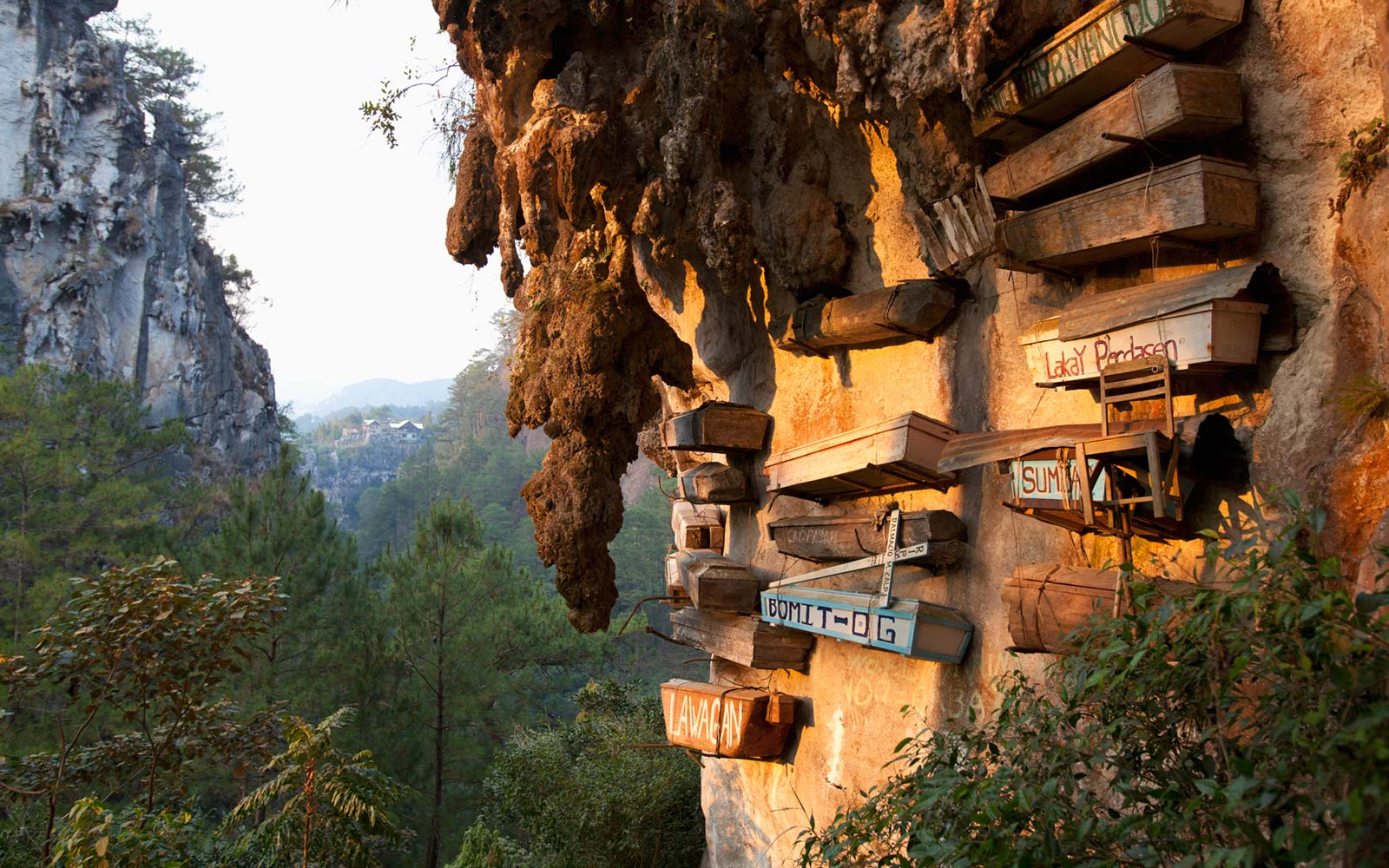 Hanging Coffins of Sagada in the Philippines