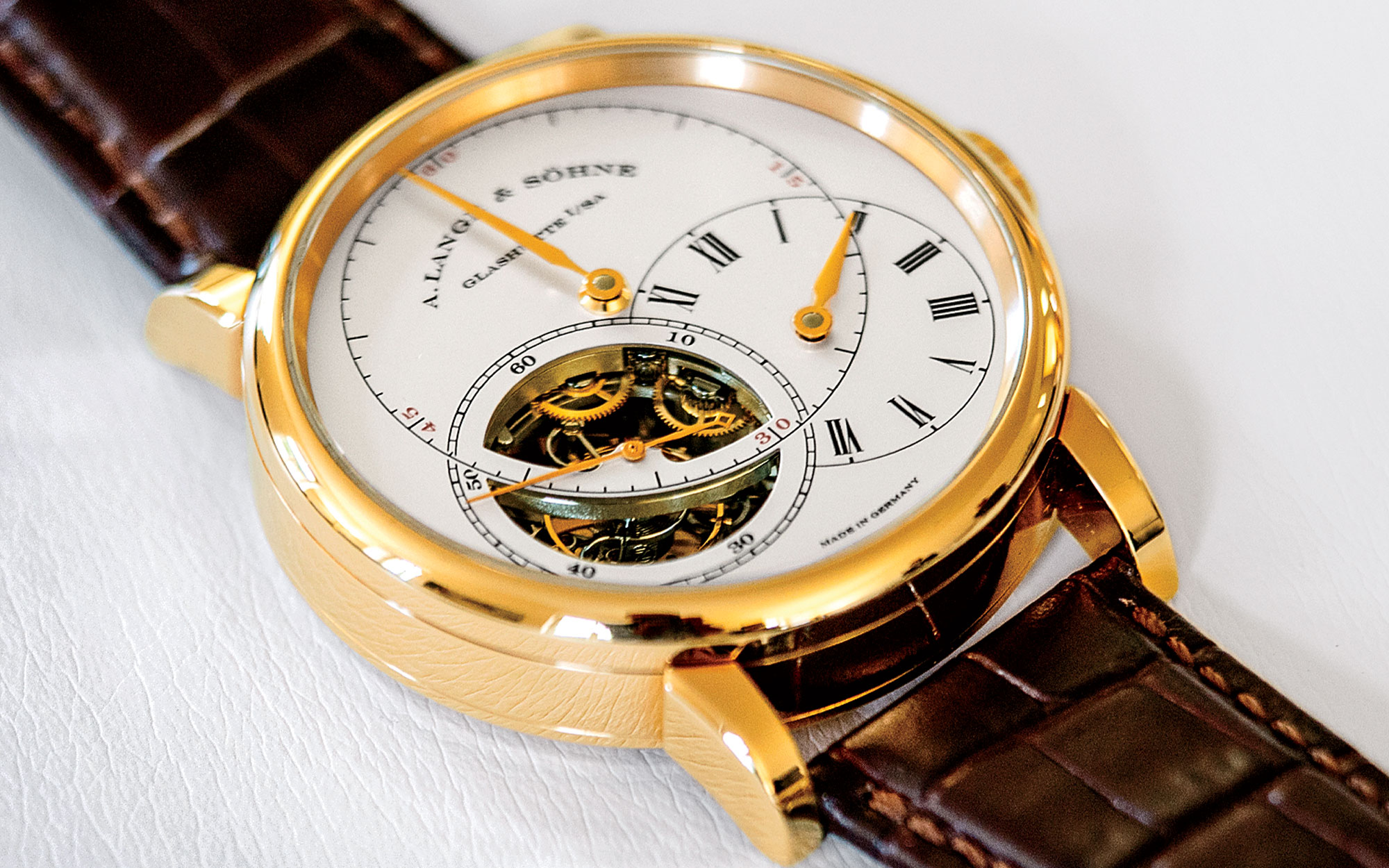 A Timepiece by A. Lange & Söhne