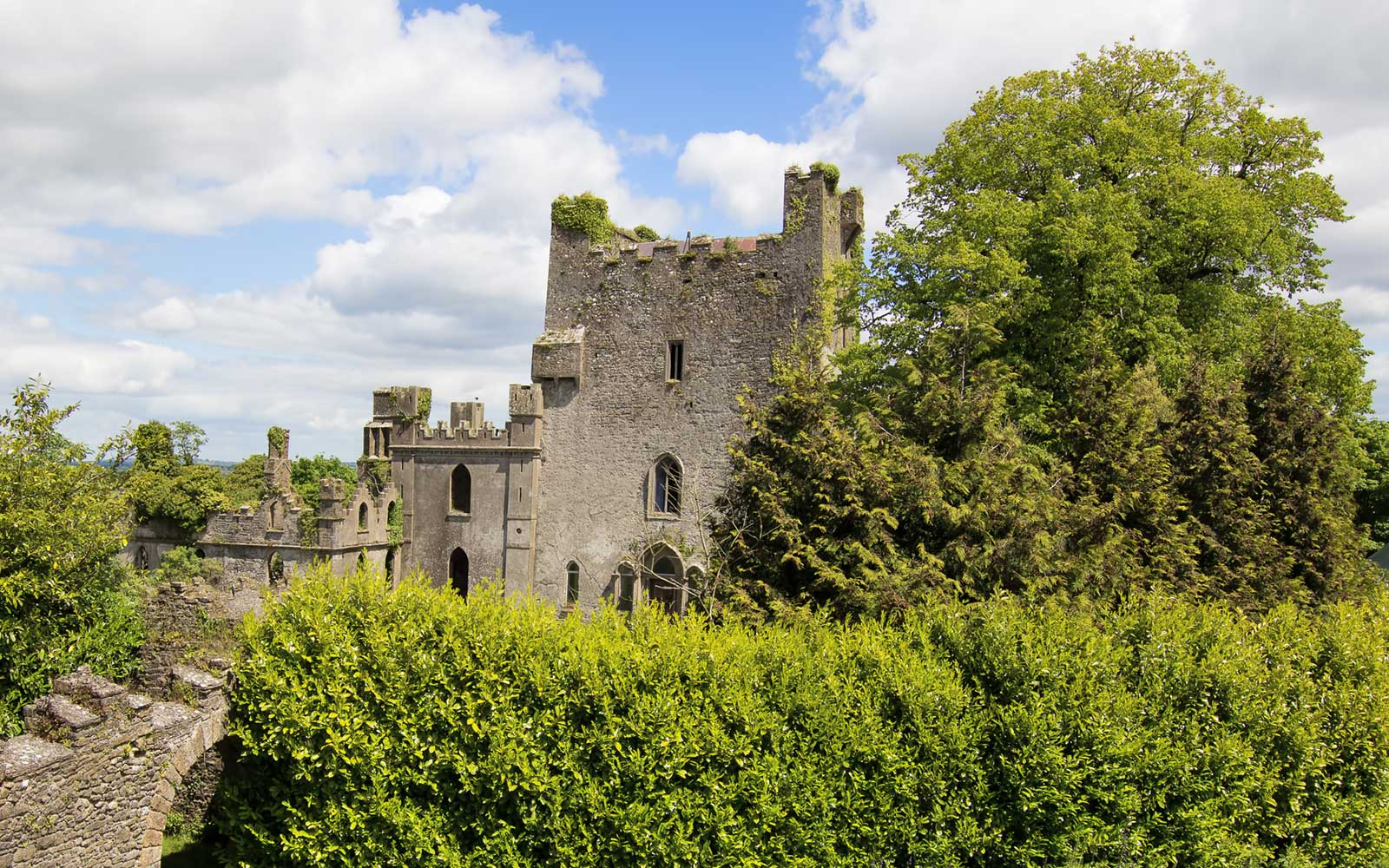 Leap Castle in Ireland
