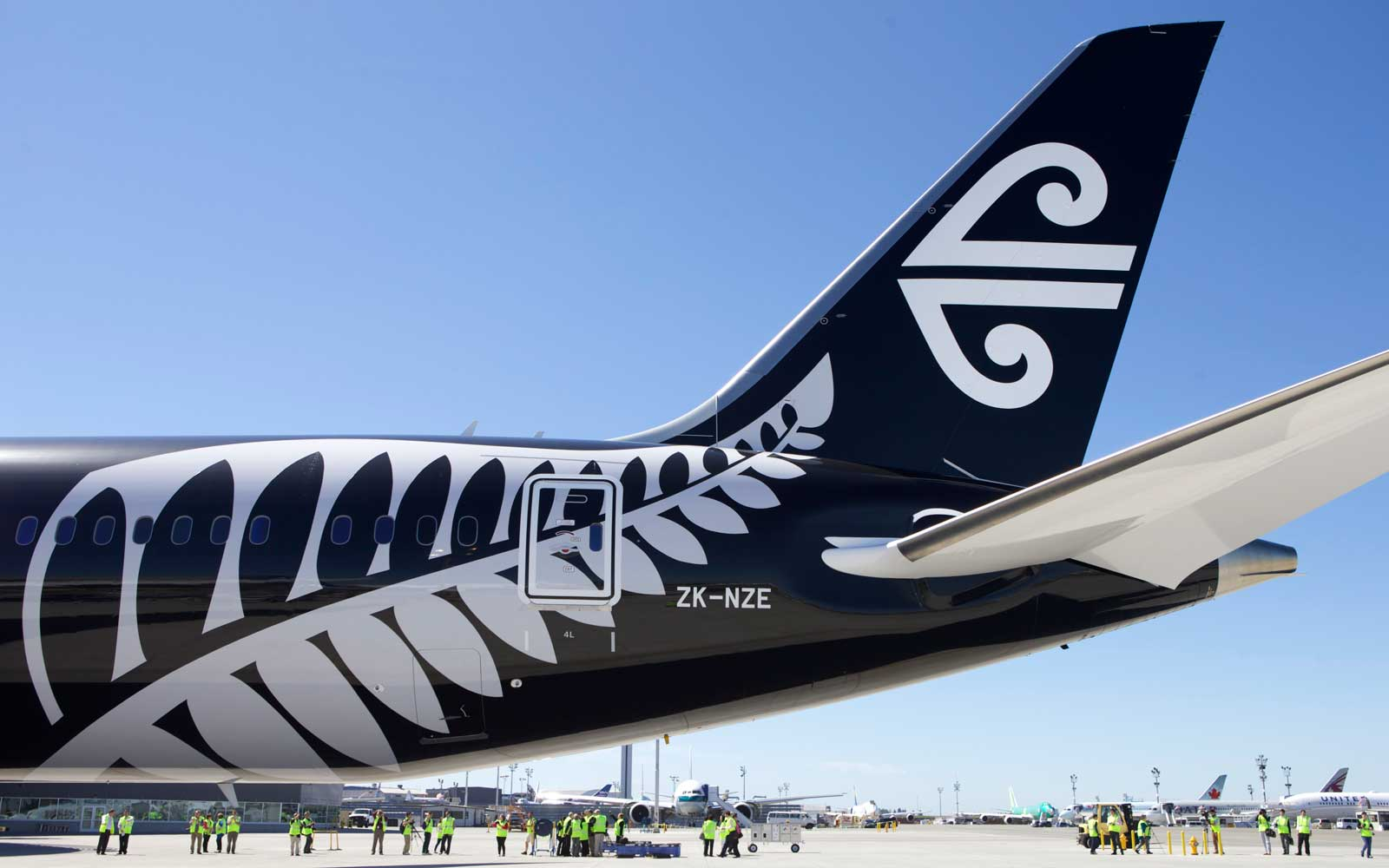 No. 6 Air New Zealand,  International