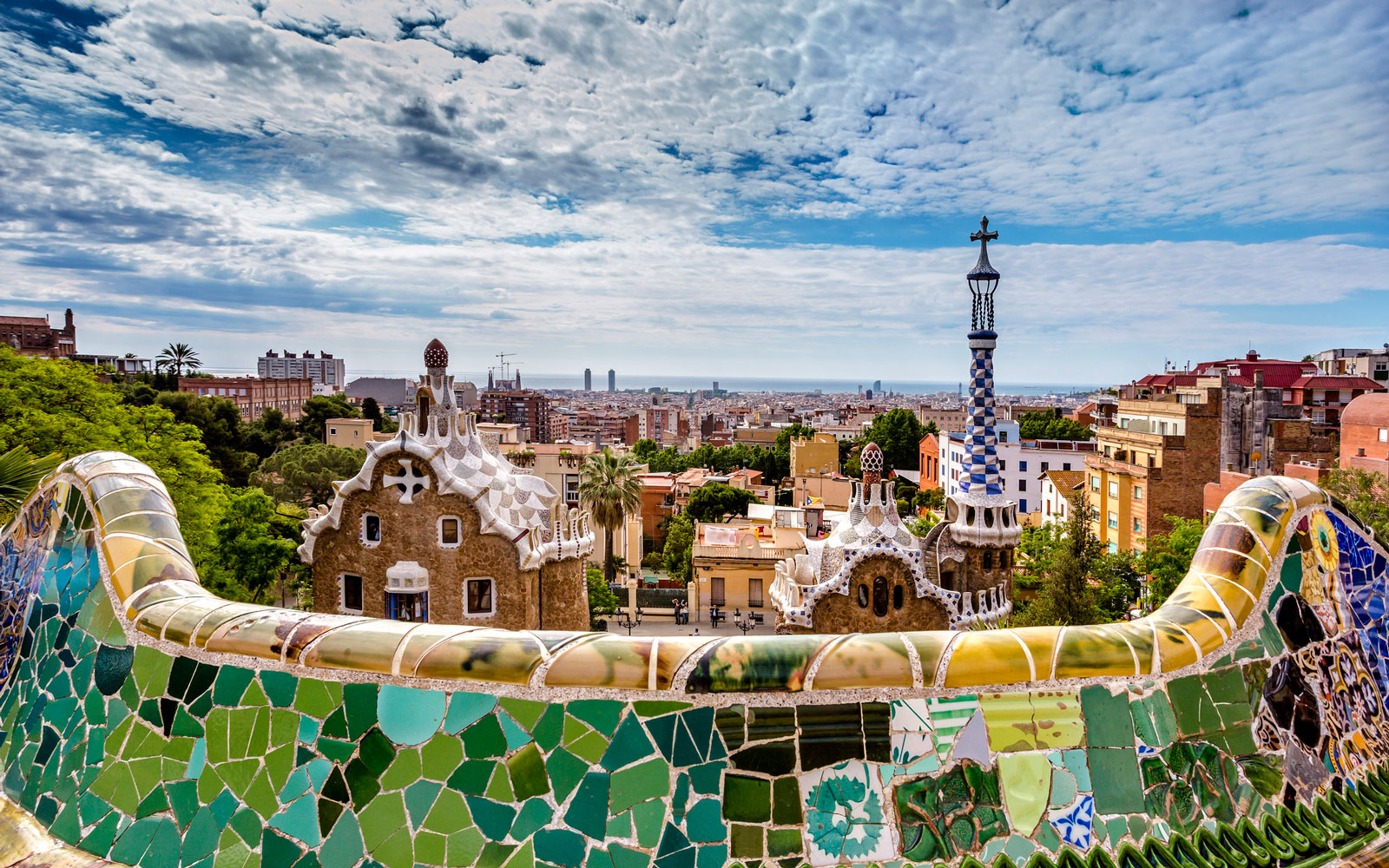 Barcelona from Park Guell.