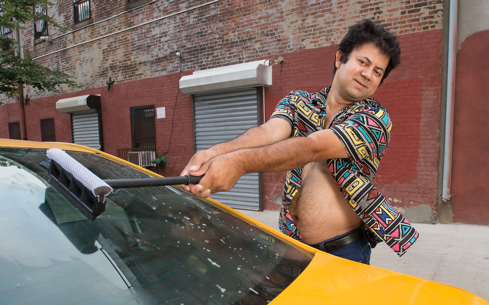 The annual NYC taxi calendar raises money to help immigrant and working individuals.