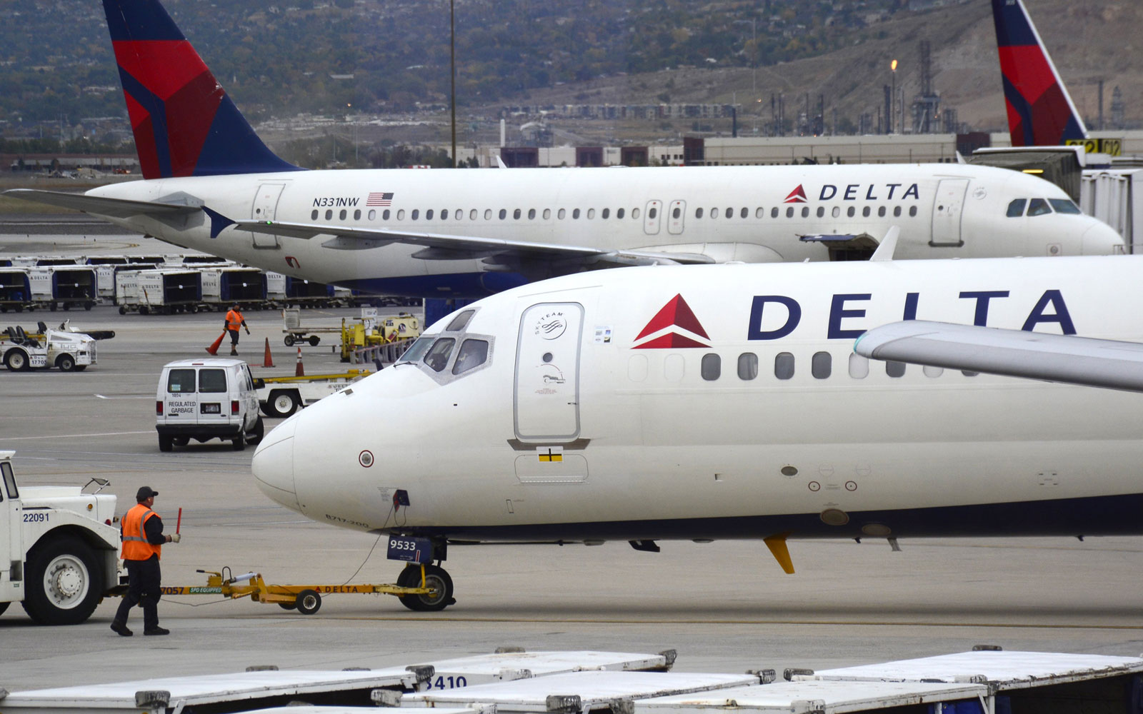 Delta banned a passenger for life after a political outburst onboard.