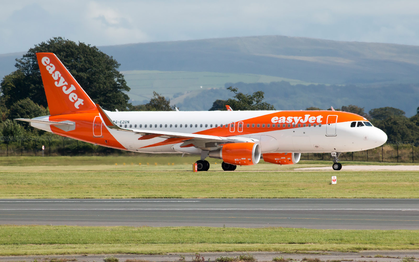 No. 4 easyJet,  International