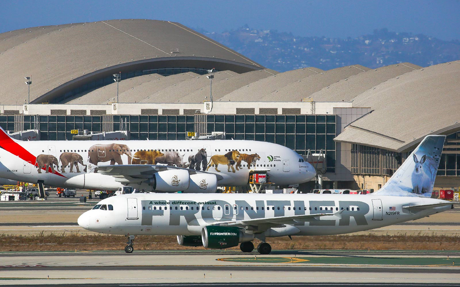 No. 3 Frontier Airlines,  Domestic