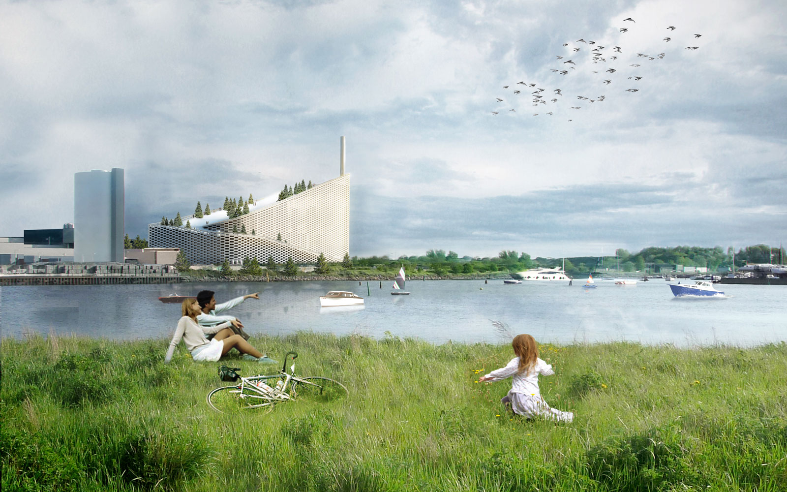 Copenhagen has a great idea for this incinerator's roof.