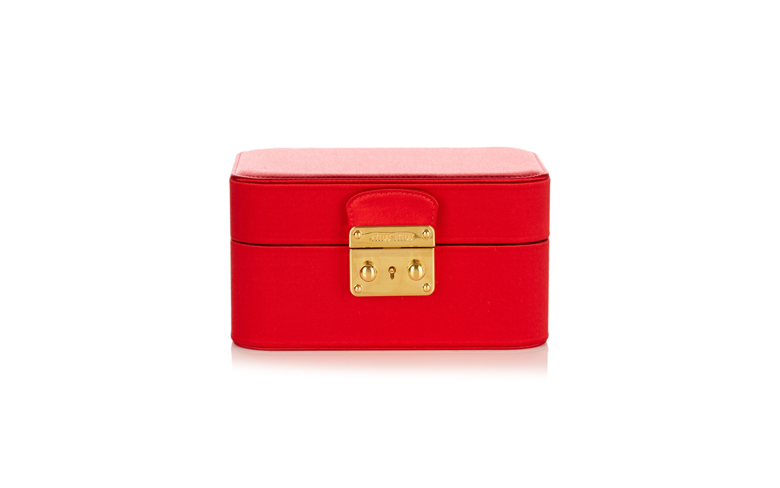 Miu Miu Satin Jewelry Box