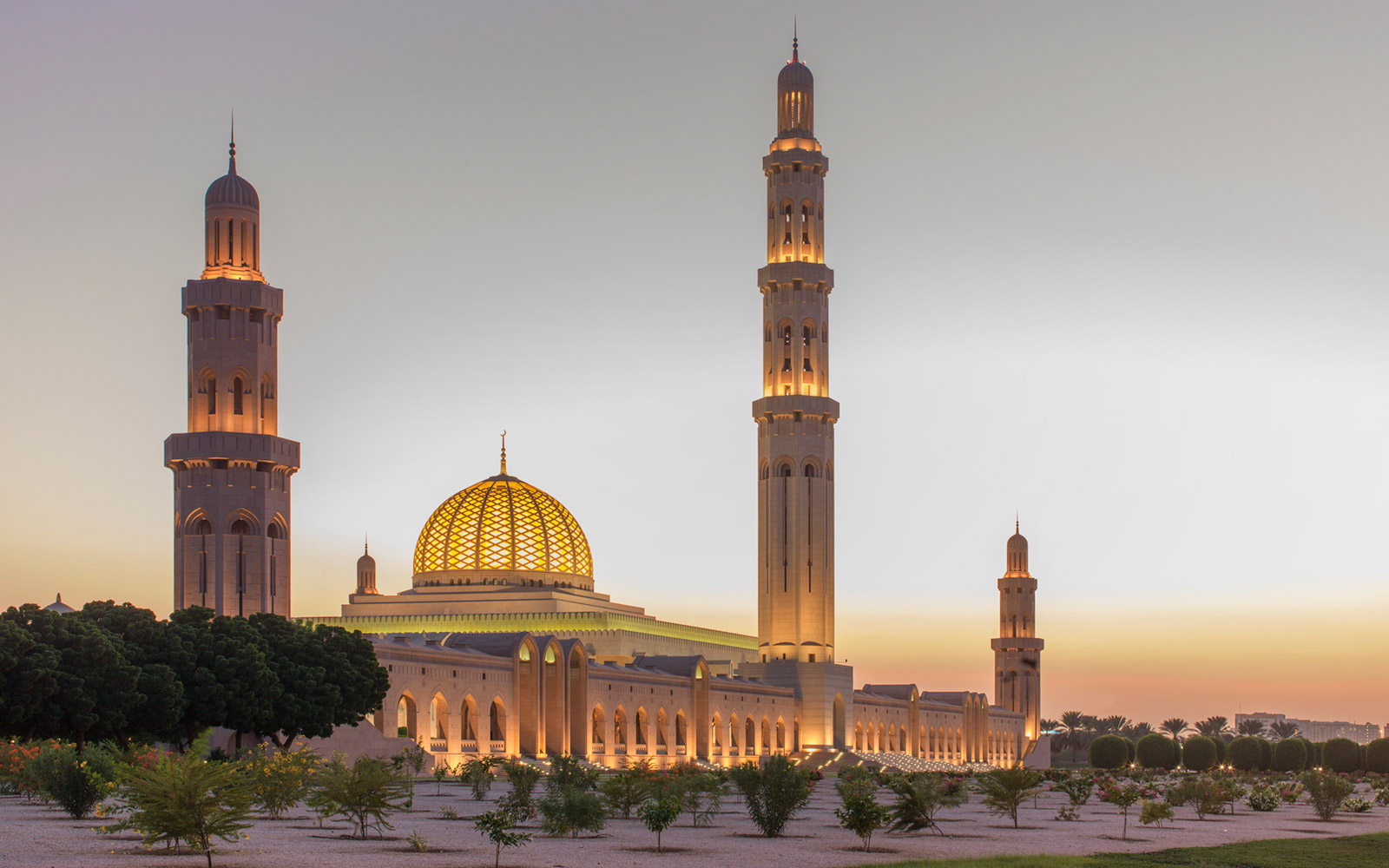 The Sultan Qaboos Grand Mosque, Oman