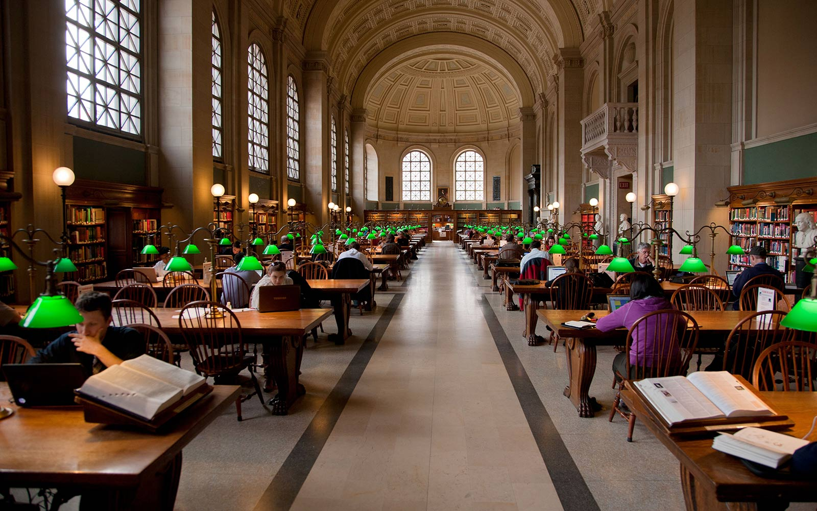 Reading Room, Boston Public Library