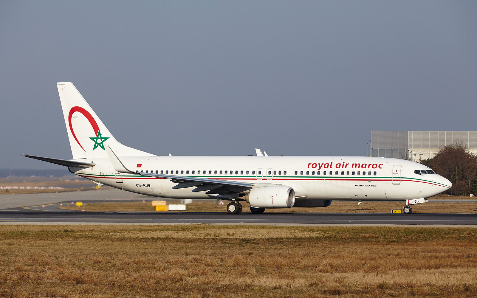 No. 5 Royal Air Maroc,  International
