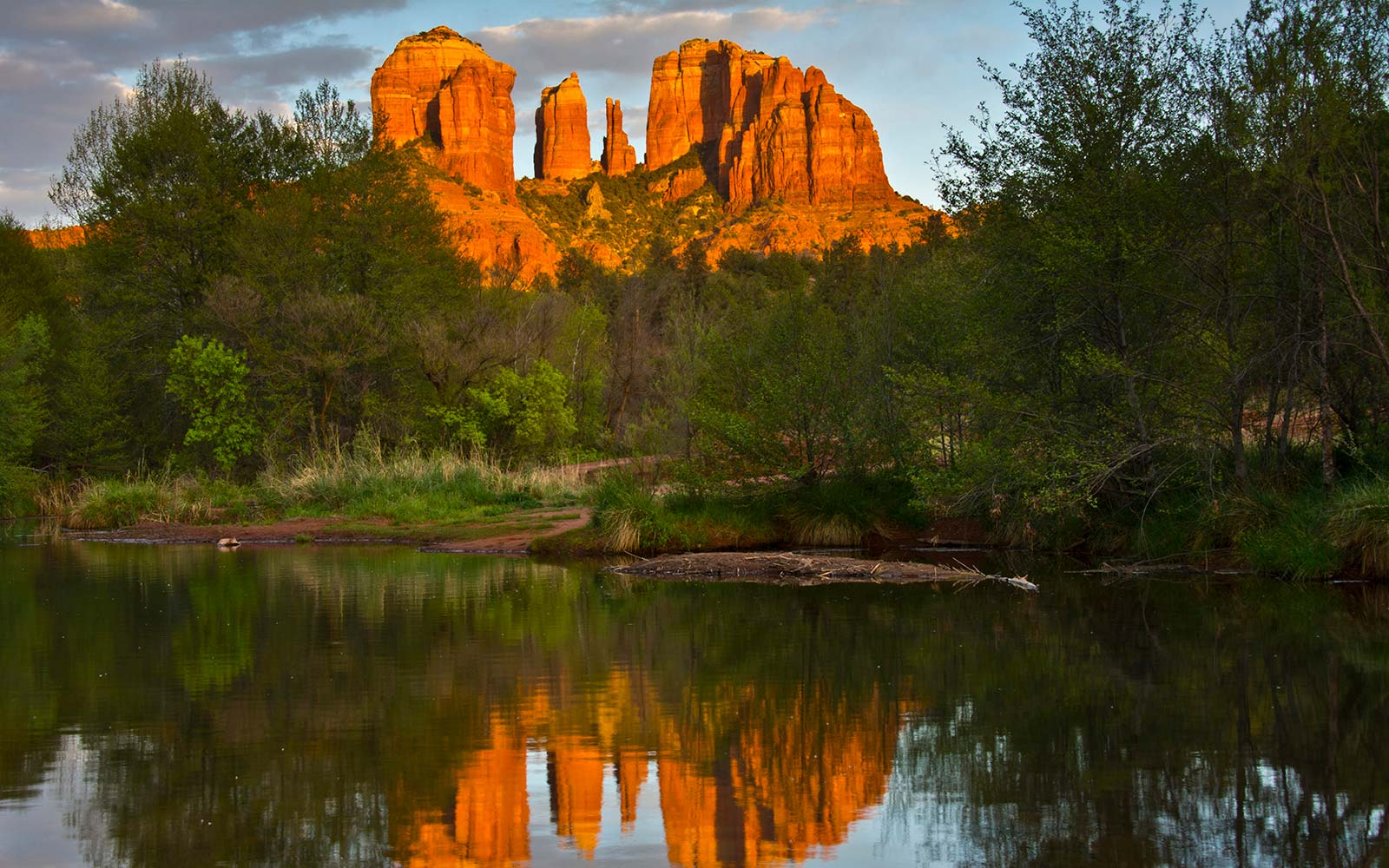 Cathedral Rock, Red Rock Crossing, Sedona, Arizona