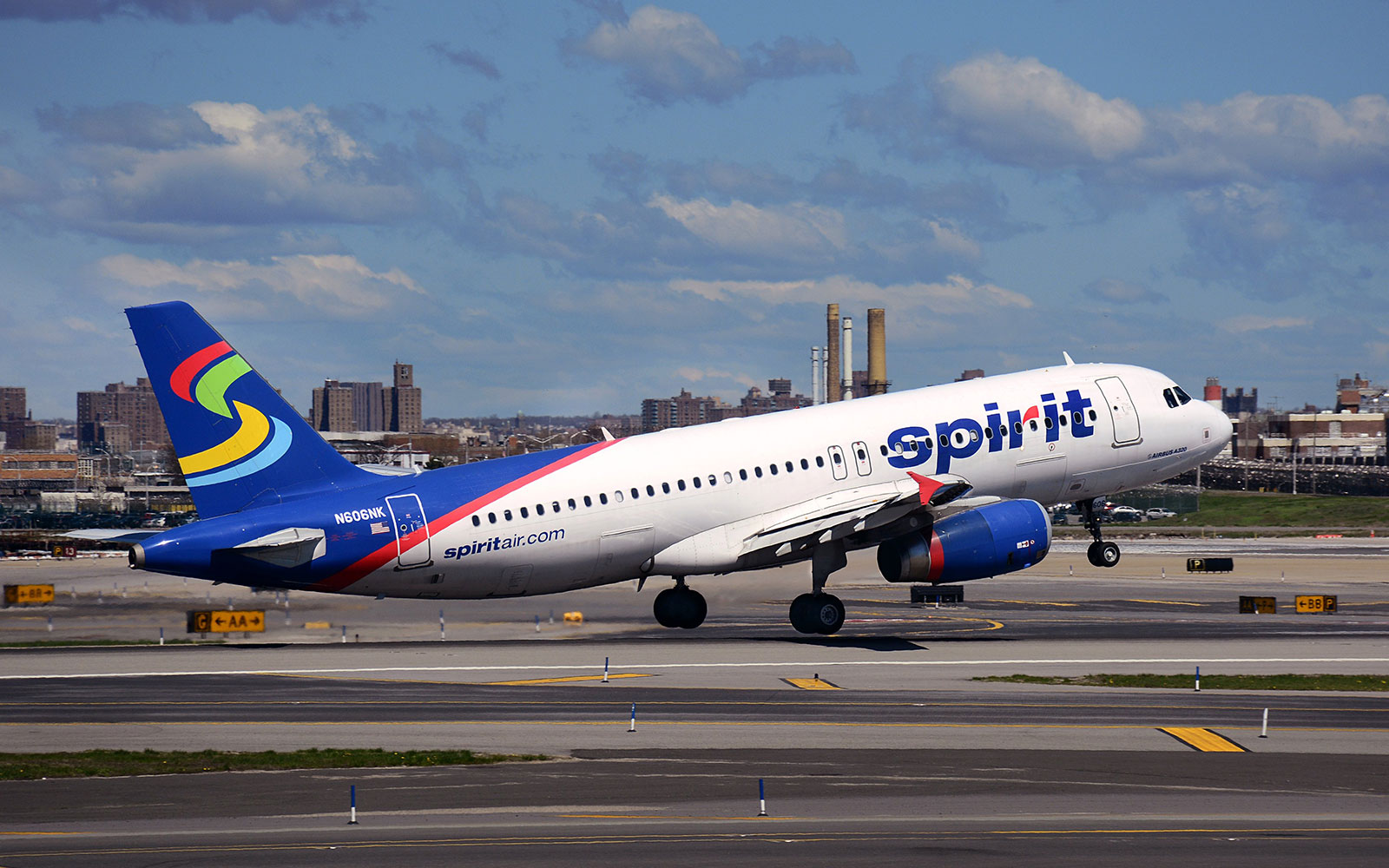 No. 1 Spirit Airlines,  Domestic