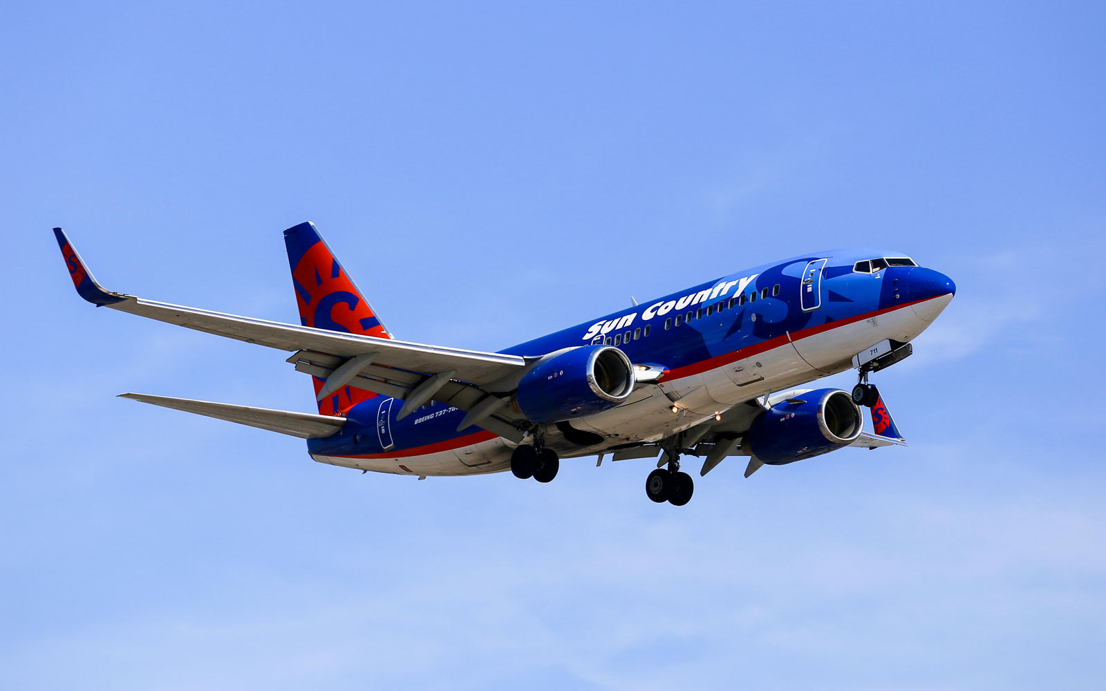 No. 6 Sun Country Airlines,  Domestic