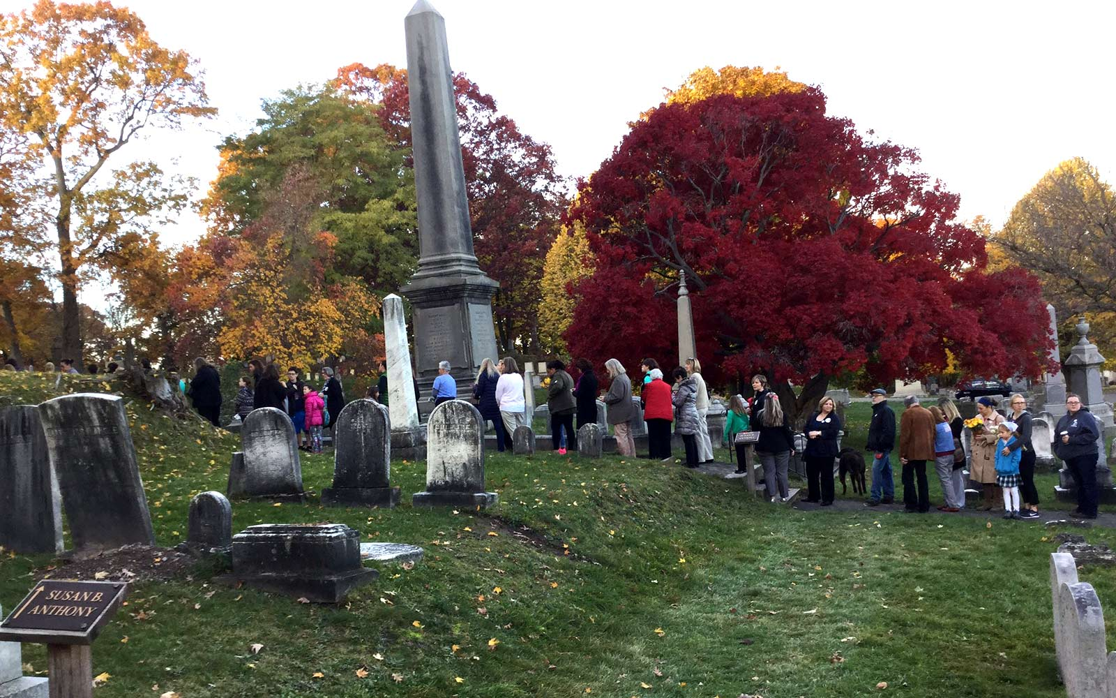 Voters Pay Homage to Susan B. Anthony