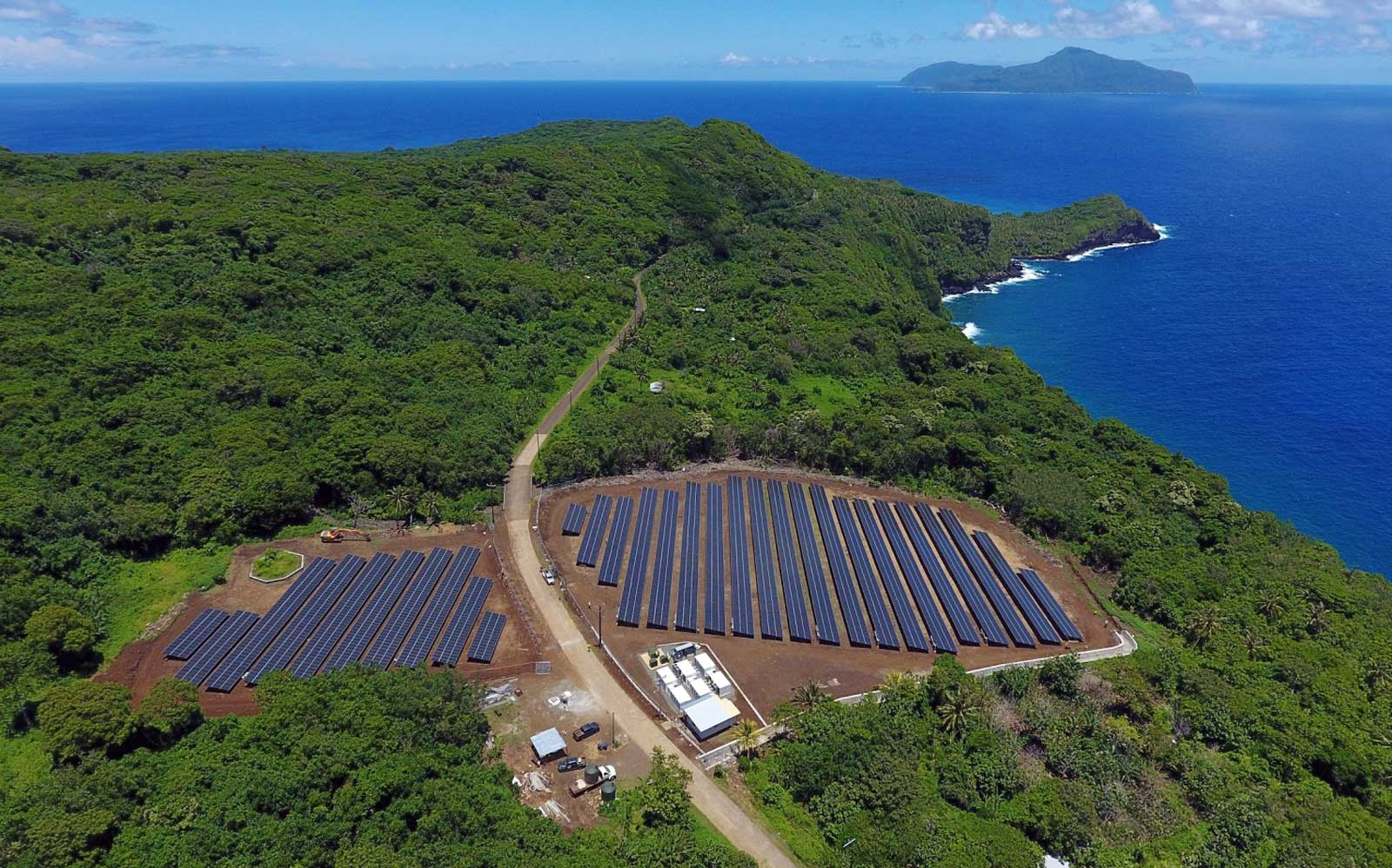 Visit this solar-powered island
