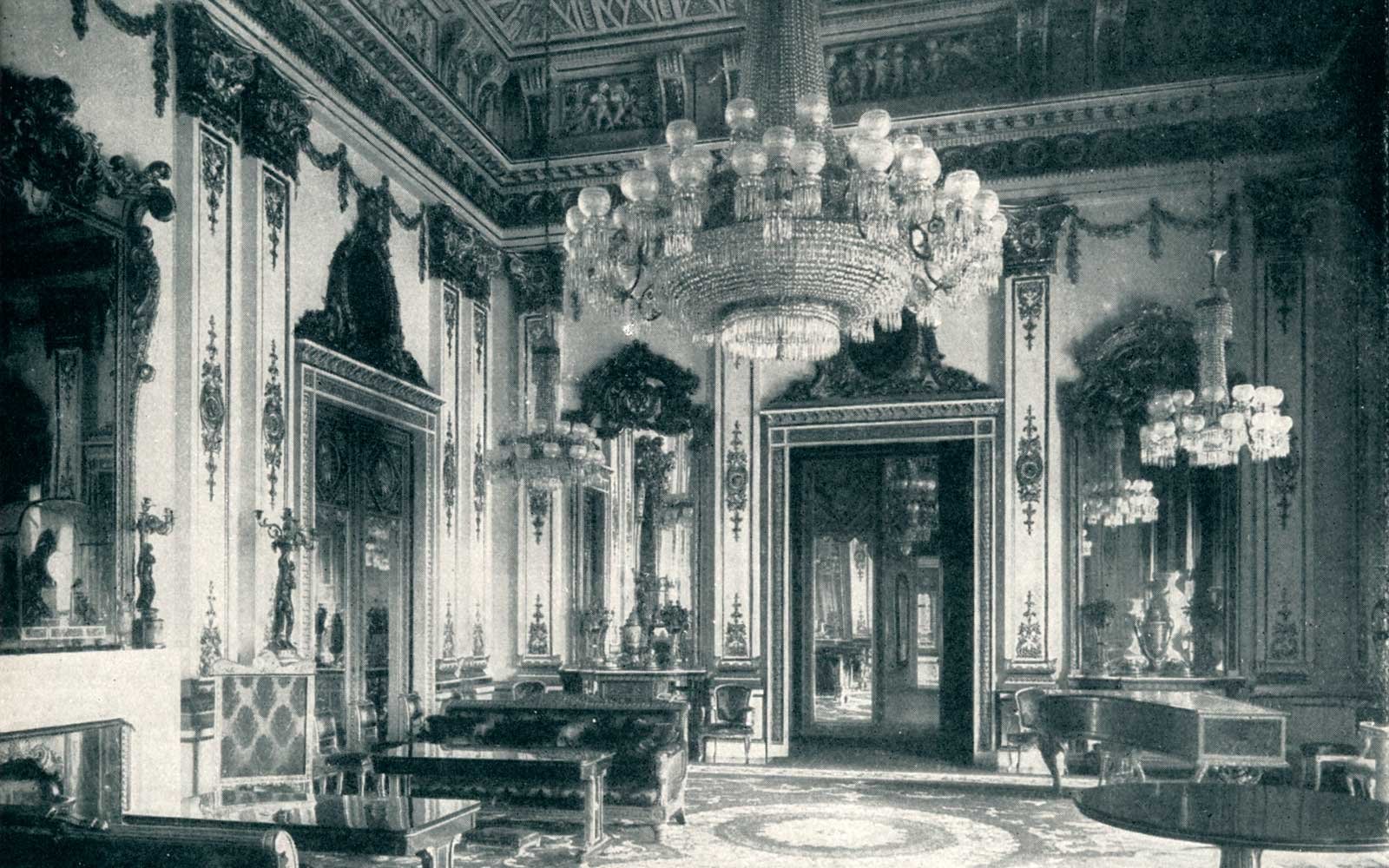 The White Drawing Room circa 1901