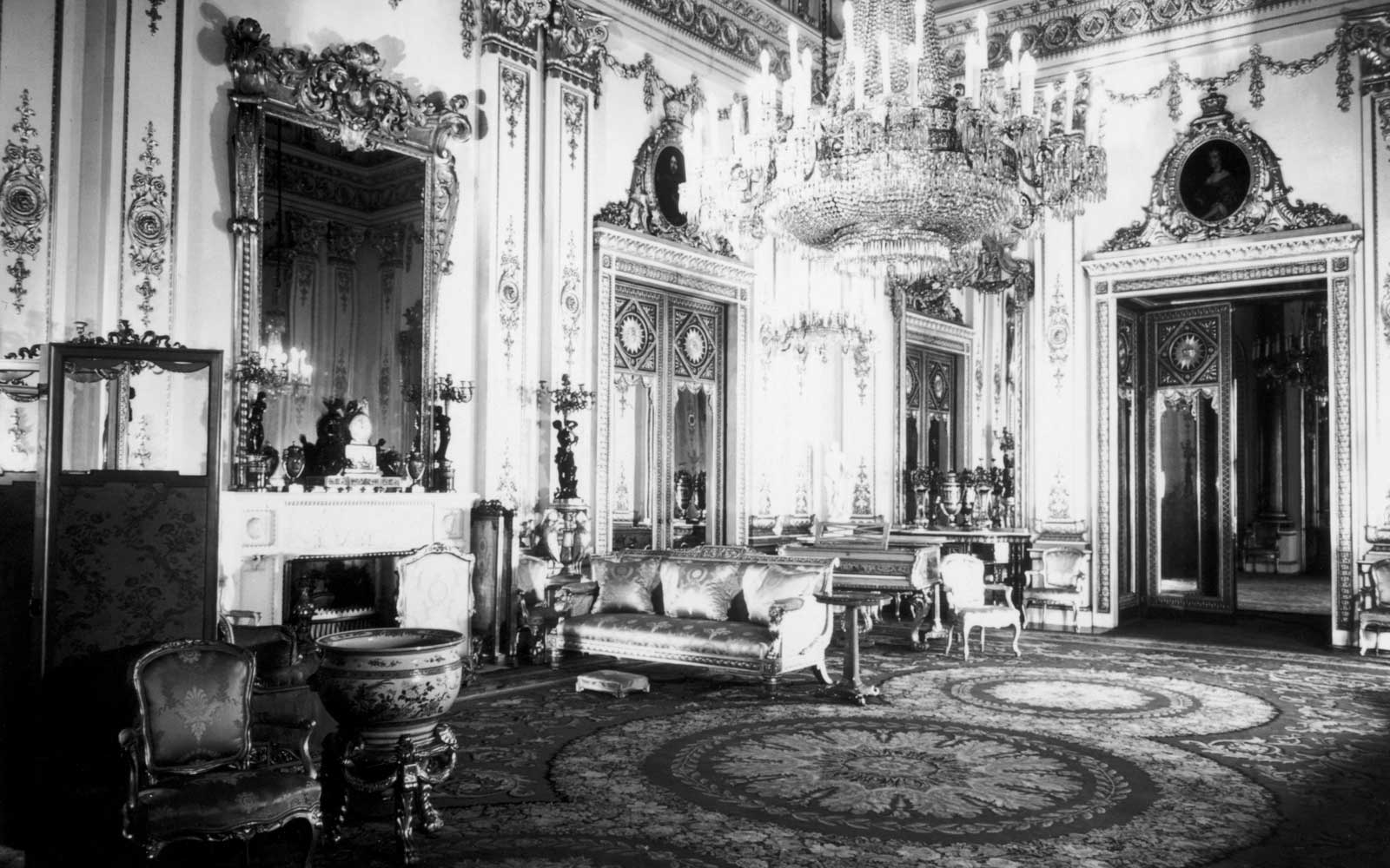 The White Drawing Room circa 1960