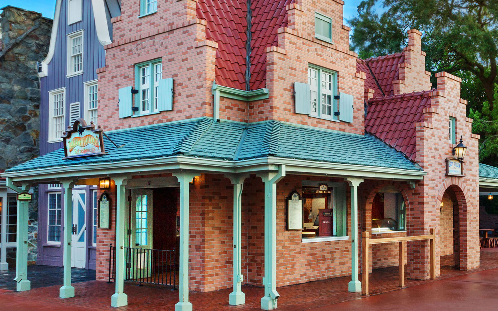 Sleepy Hollow restaurant at Magic Kingdom, FL