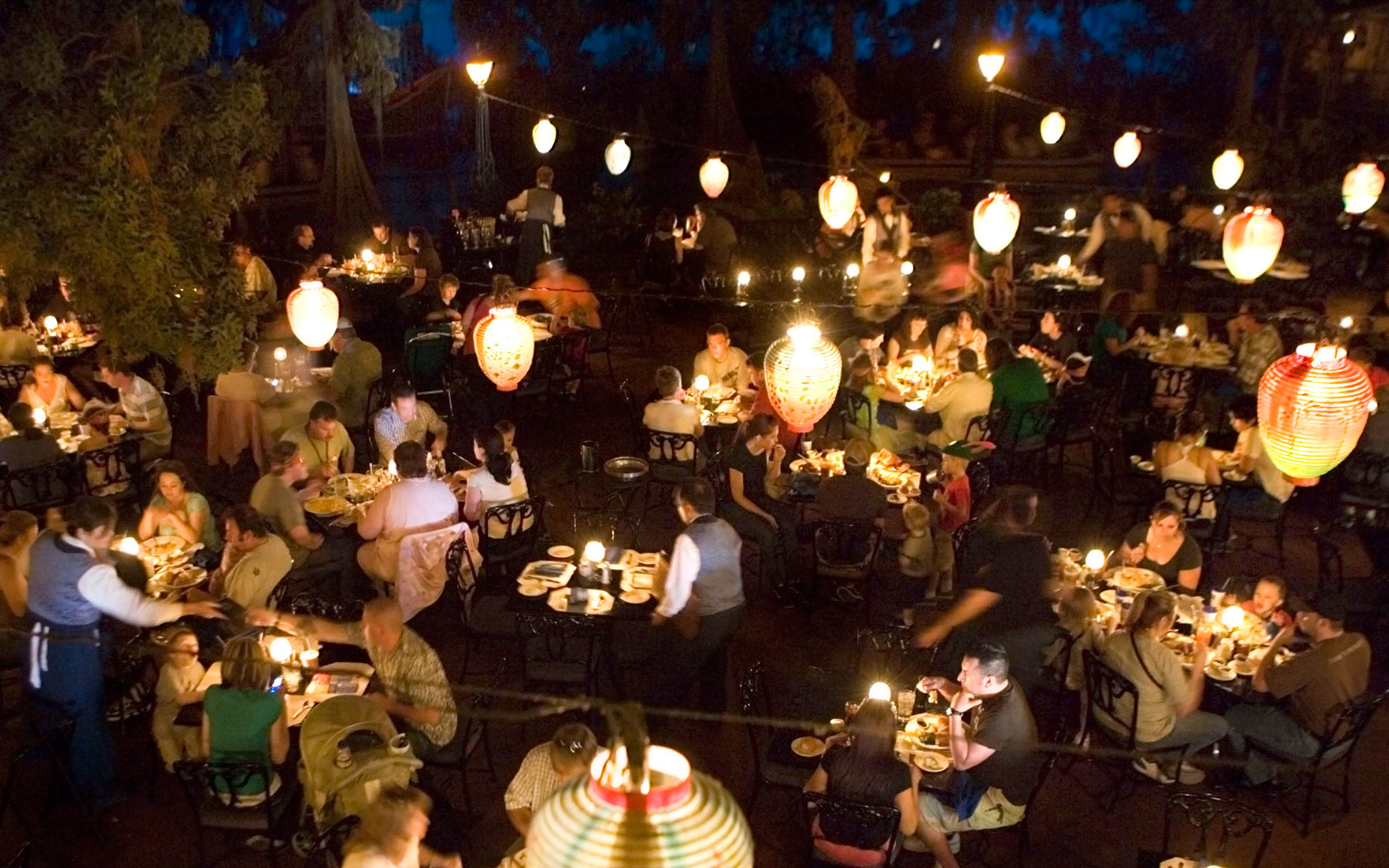 Blue Bayou Restaurant, Pirates of the Caribbean, Disneyland