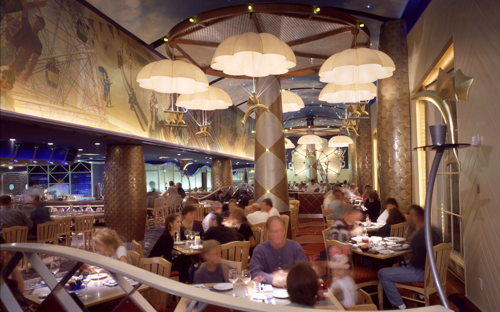 Flying Fish Café, Disney's BoardWalk