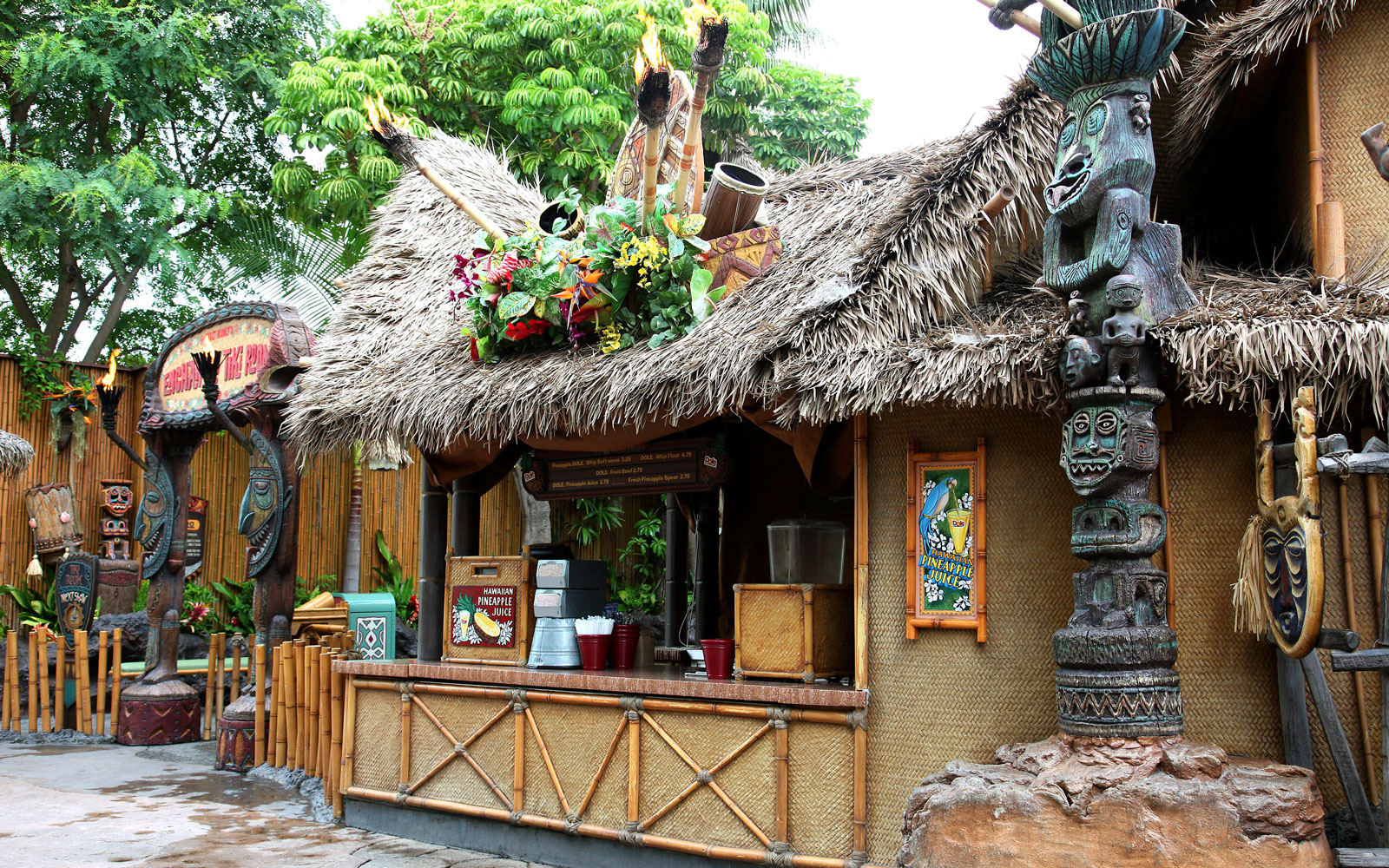 Enchanted Tiki Room, Adventureland, Disneyland