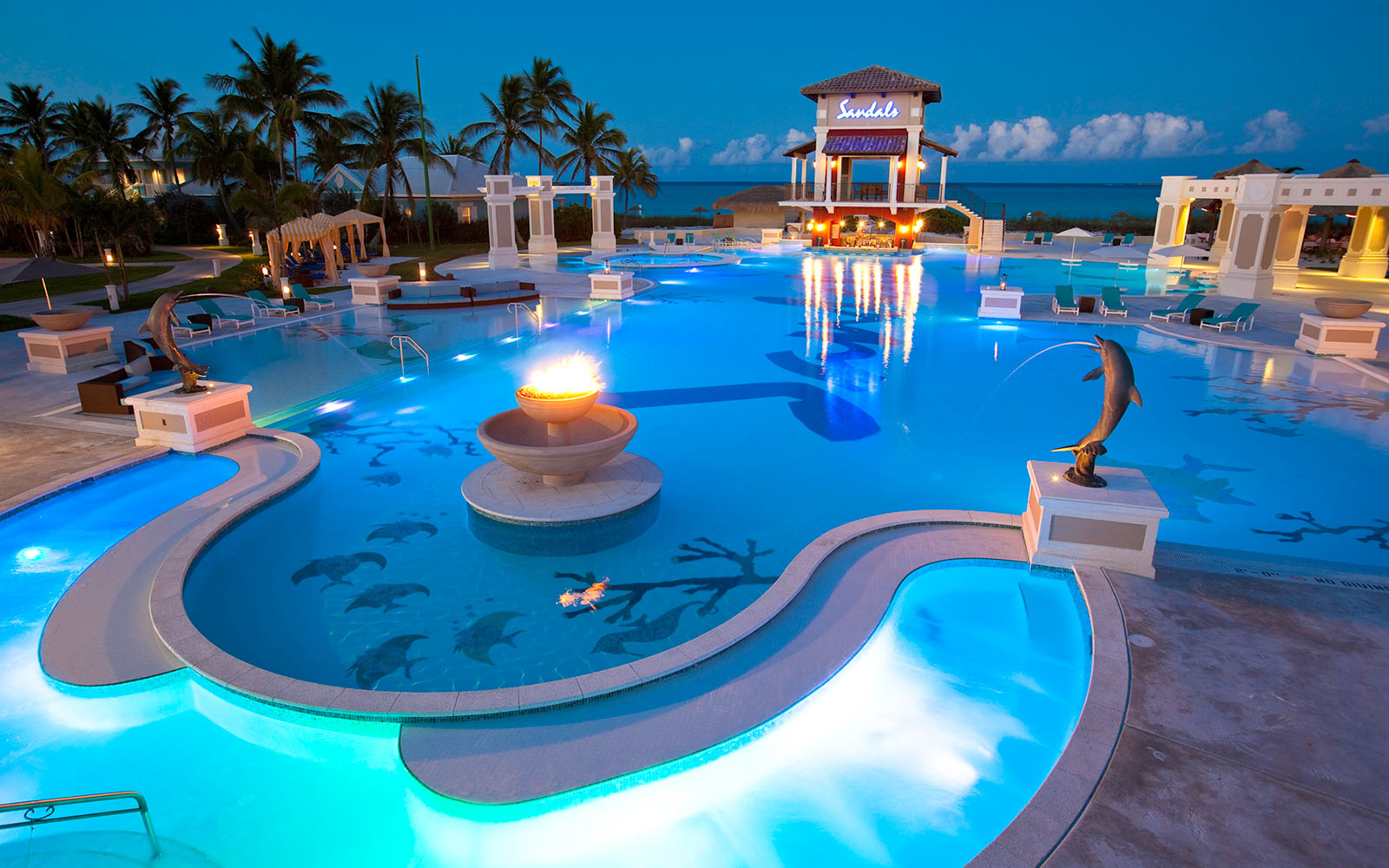 Sandals Emerald Bay Exumas, Bahamas