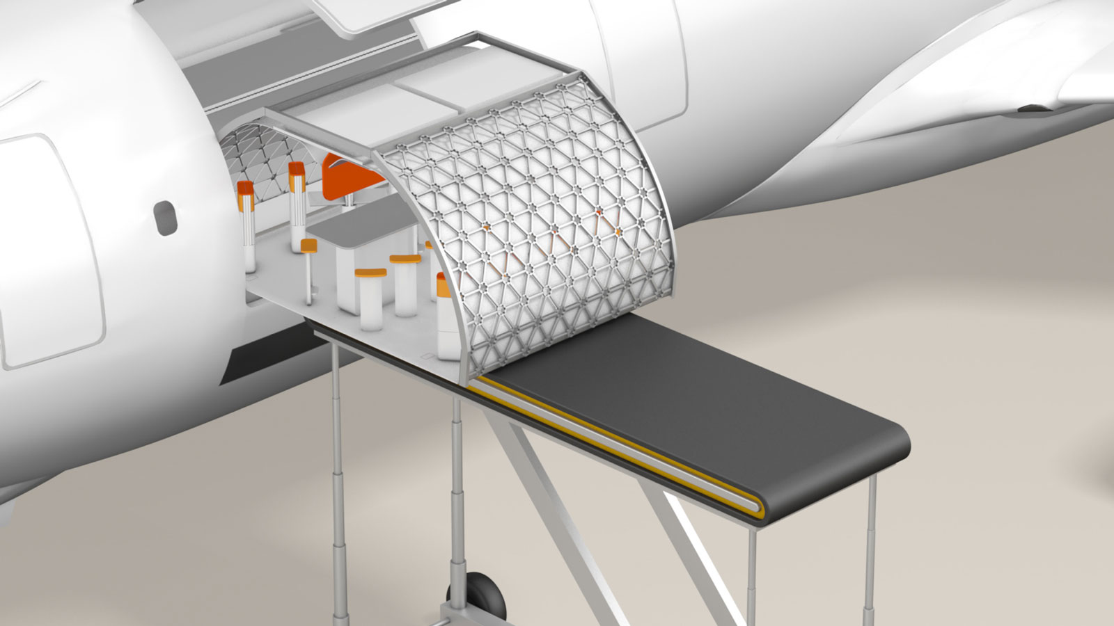 Modular aircraft cabins will change how we fly.