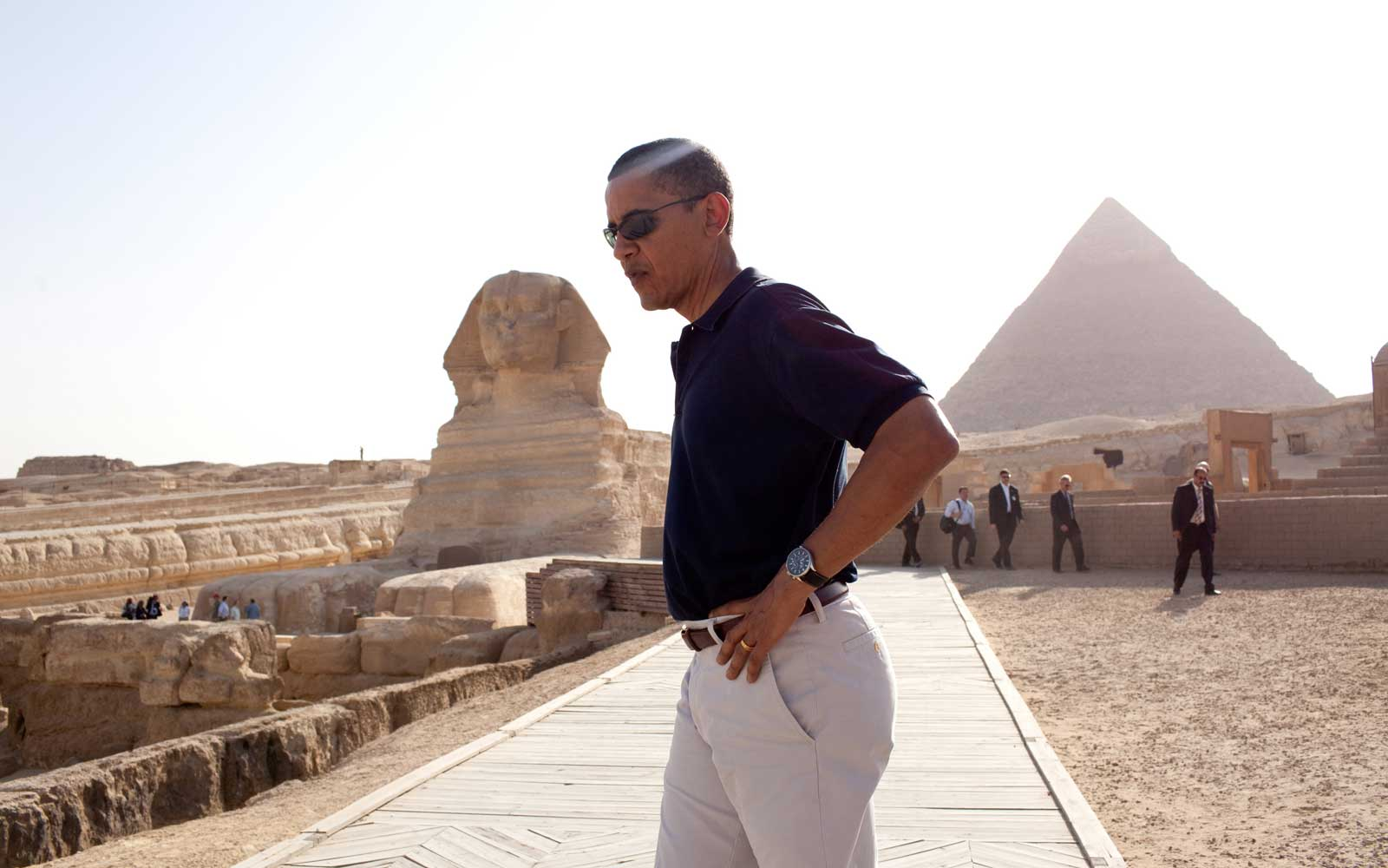 Obama's Eight Years of Travel