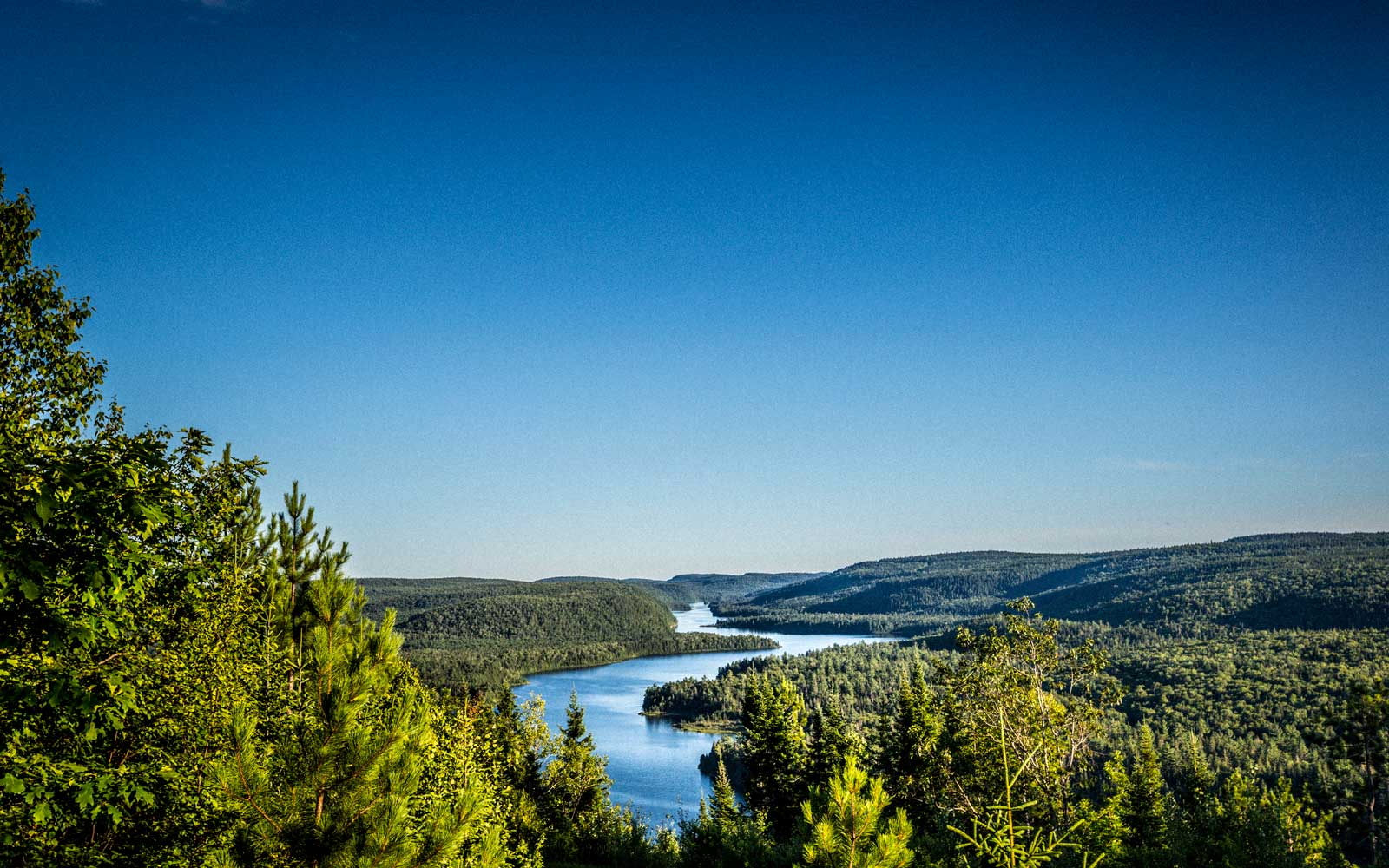 Wapizagonke Lake at La Mauricie National Park