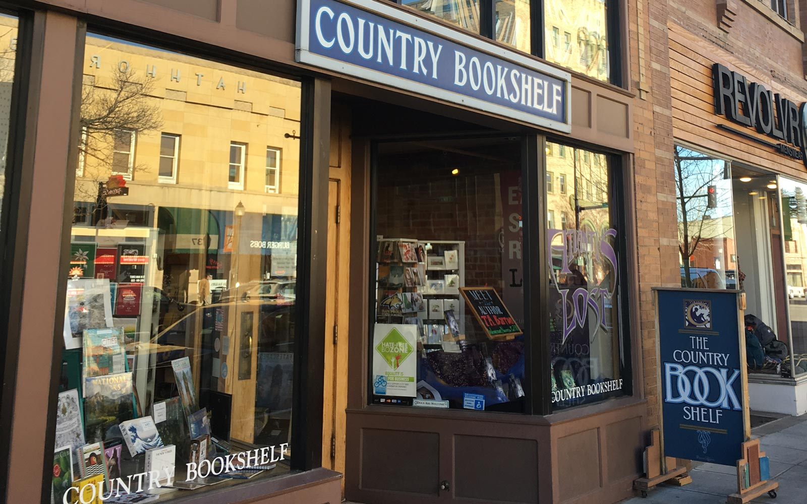 Country Bookshelf, Bozeman, Montana