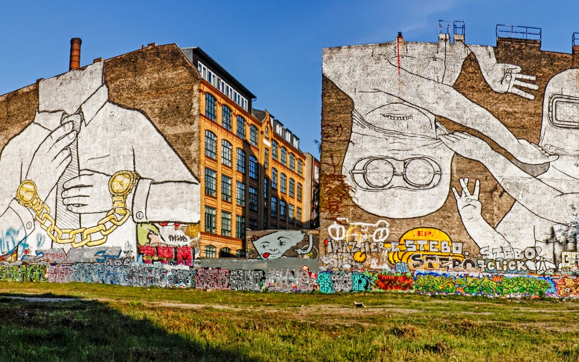 Mural, Kreuzberg, Berlin, Germany