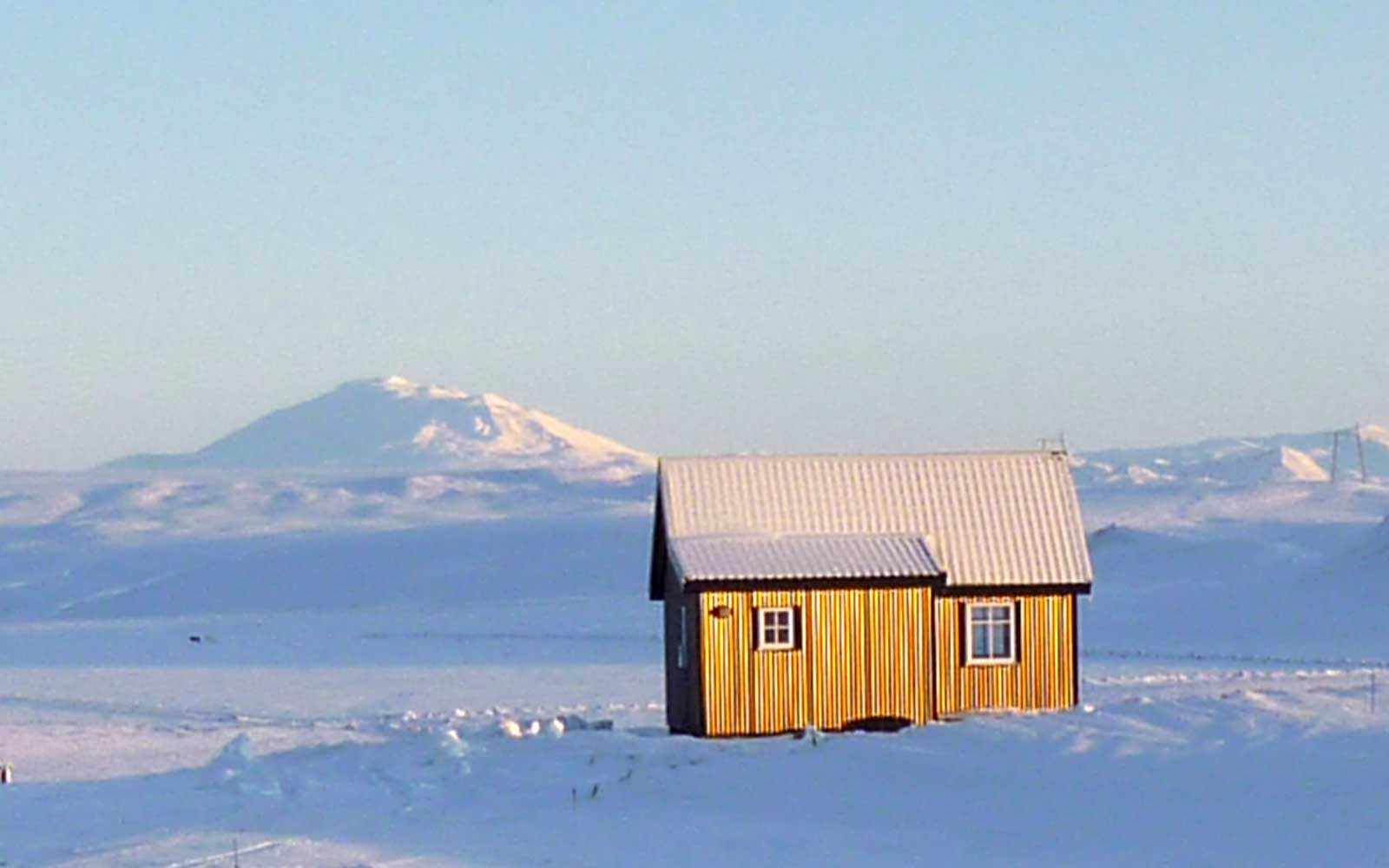 Cabin In Iceland For Northern Lights