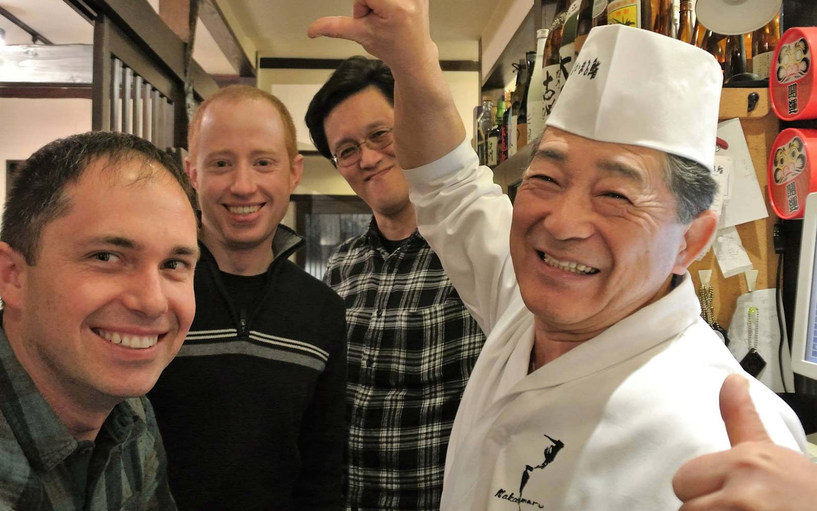 This Japanese chef will friend you on Facebook