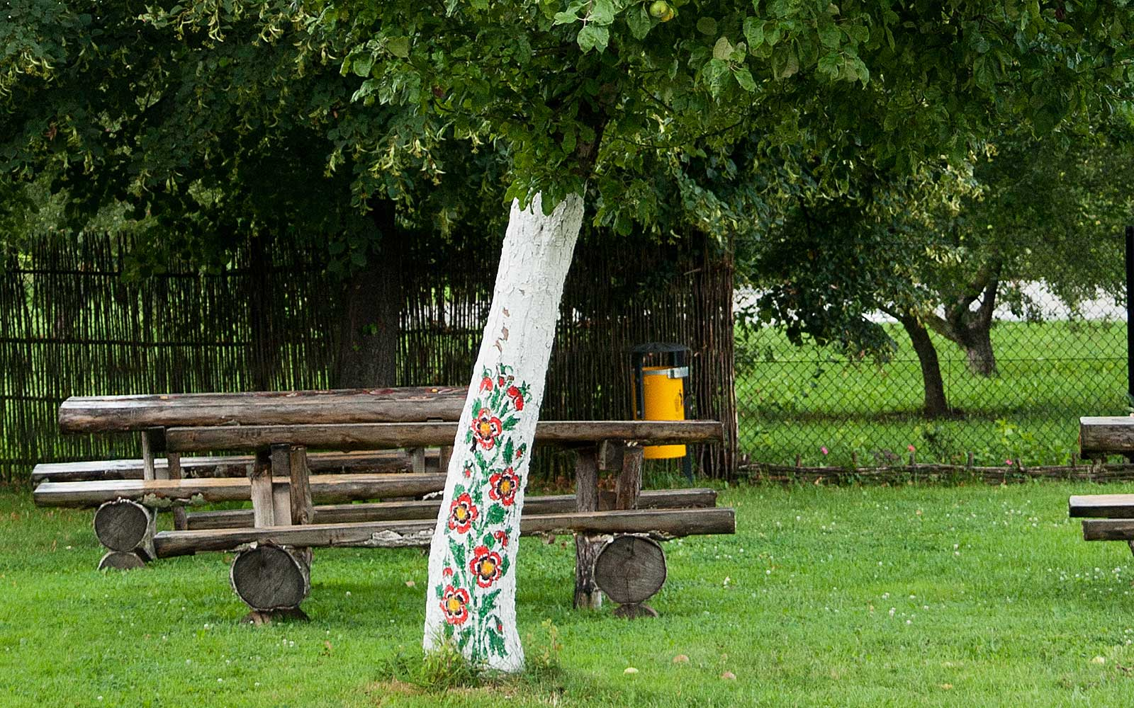 Painted Flower Village Zalipie Poland